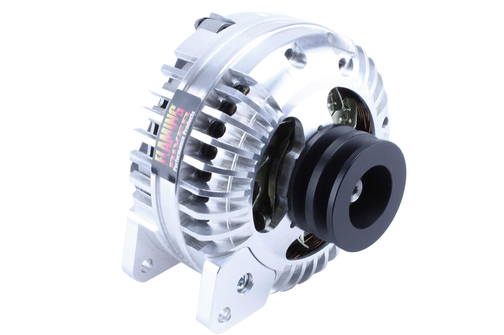 Muscle car Mopar fans and Street Cruiser enthusiasts will benefit from Flaming River's newest alternator.