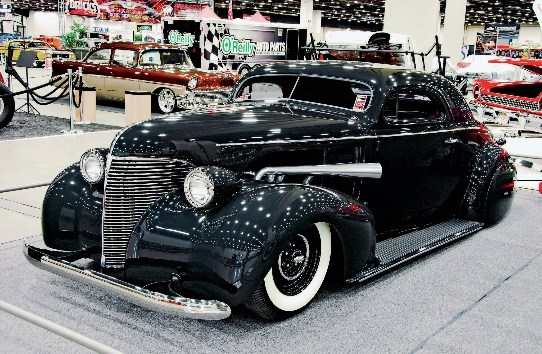 This '39 Chevy, built at Jason Graham Hotrods & Cool Customs, was a STREET RODDER Top 100 award winner at the 2014 Detroit Autorama.