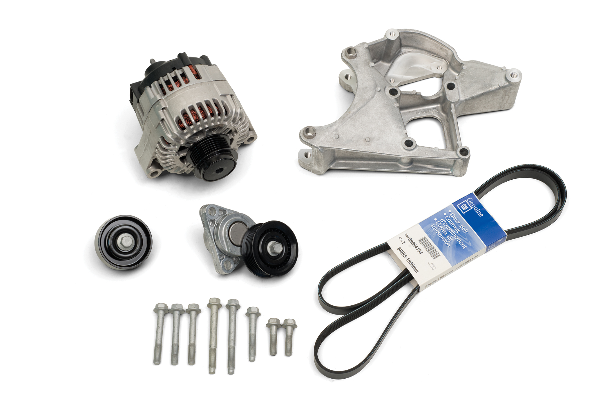 Chevrolet Performance offers a couple of extras to go along with the DR525, like its front-engine accessory drive package that includes alternator, bracket, tensioner, serpentine belt, and other components. It is listed under P/N 19329418. A separate PCM is required for CP Stock and racers will find that under P/N 19329004 in the Chevrolet Performance catalog.