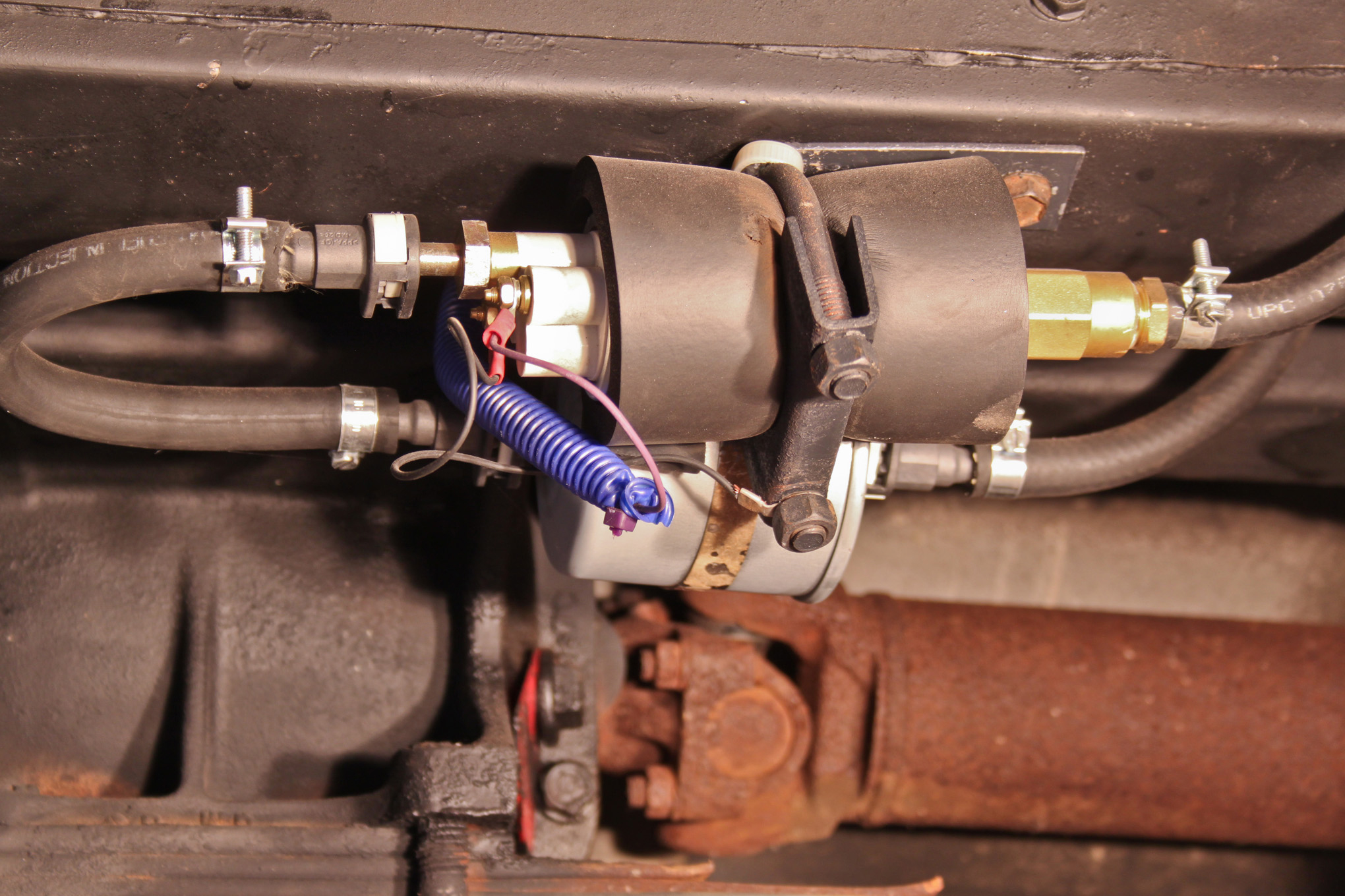 A Homemade Tbi Conversion For 904 Hot Rod Network 1976 Ford Dual Tank Wiring