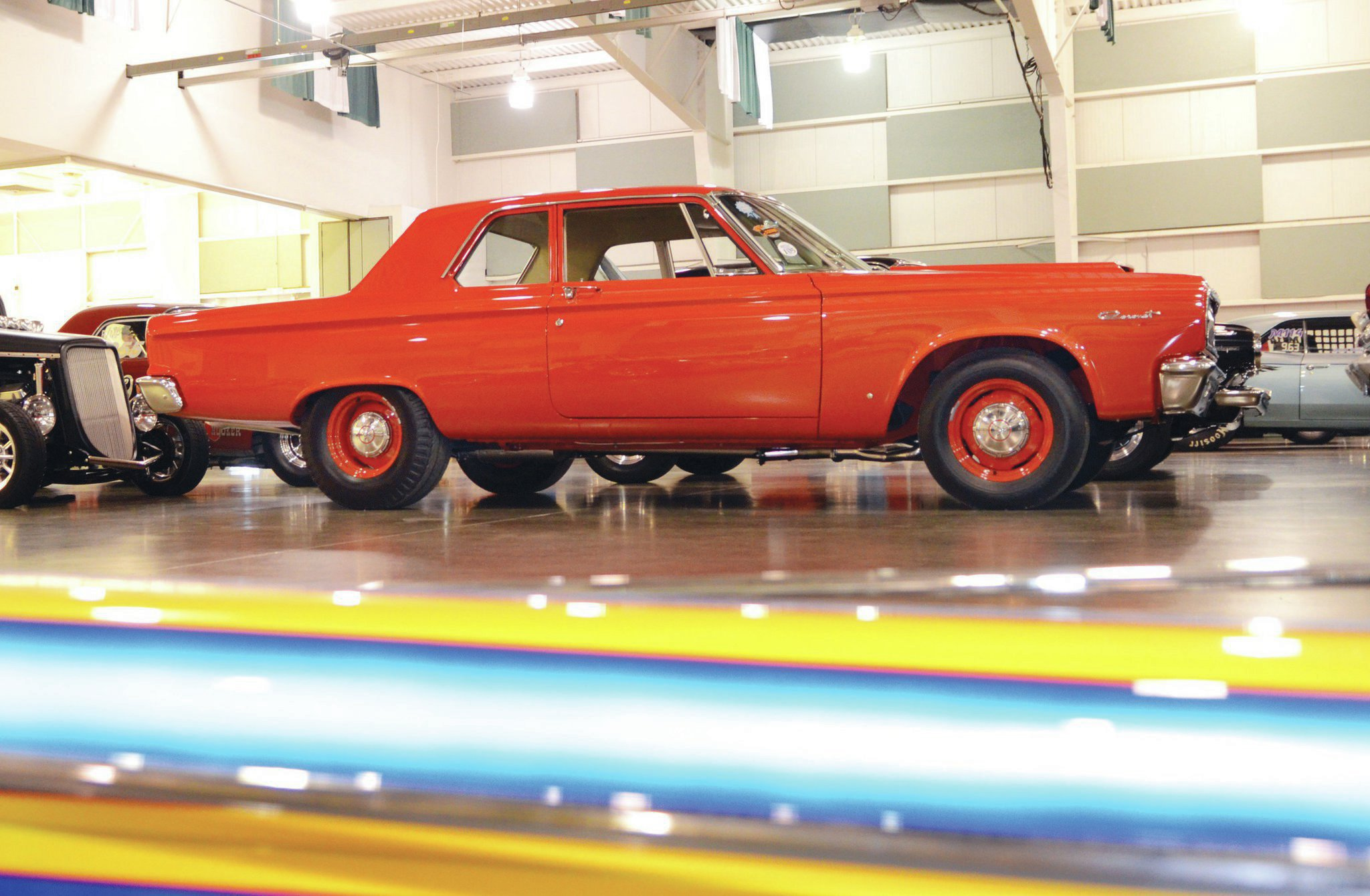 Taking home Best of Show overall was this gorgeous red '65 A990 426 Hemi Dodge Coronet owned by Charlie and Denise Caldwell. The car, a tribute that is streetable and has won numerous awards since being finished, is from Ohio.