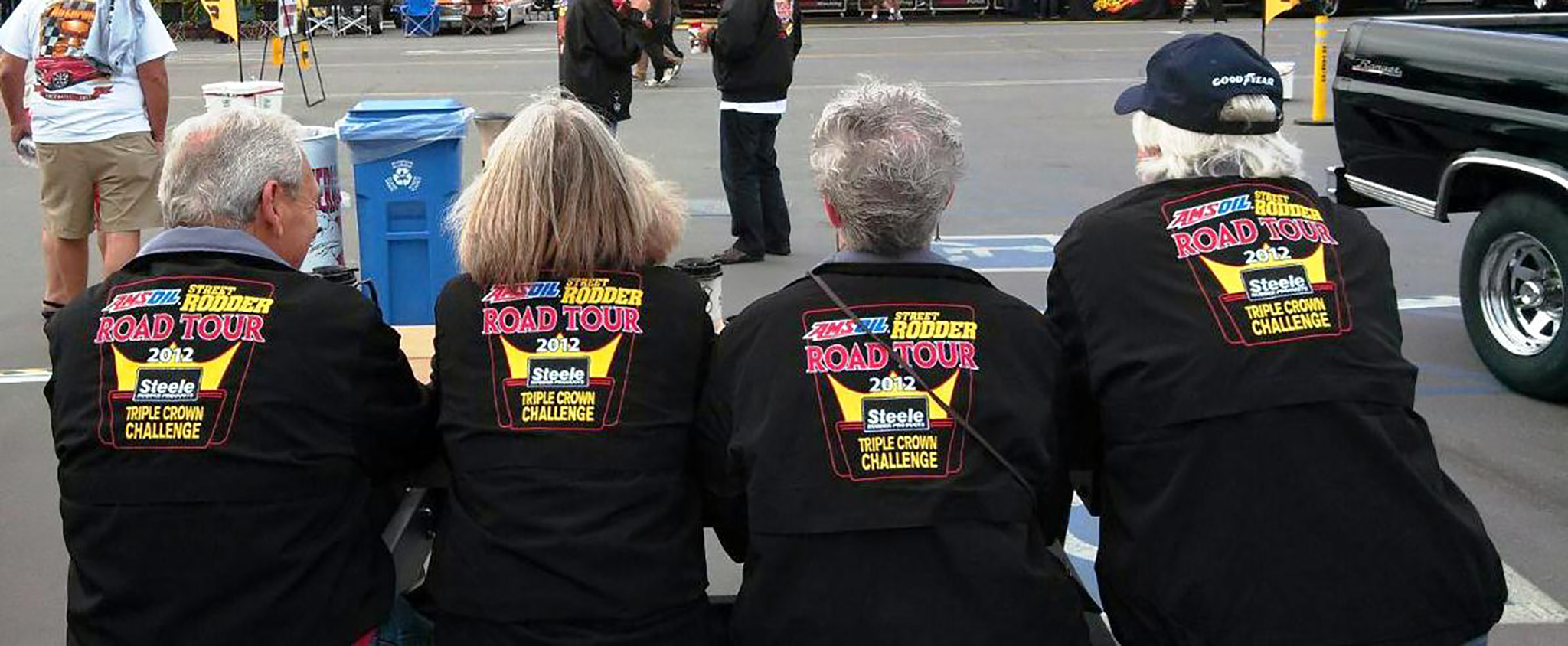 The folks that complete the Triple Crown Challenge receive a jacket to commemorate their efforts. They wear the jackets with justifiable pride knowing that they are a part of a small group of road warriors.