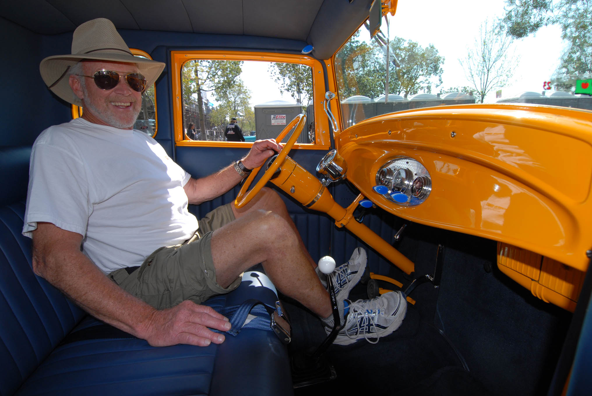 """It took Greg Powell five years and patch panels aplenty to transform a cancer-ridden, $1,000 shell into this beauty. """"I tried not to use anything new,"""" said Greg, listing a carbureted 327, close-ratio Muncie, Ford 9-inch, and the same heater that's made Wyoming winters tolerable since he installed the box in his first car, a Model A purchased at age 16—51 birthdays ago."""