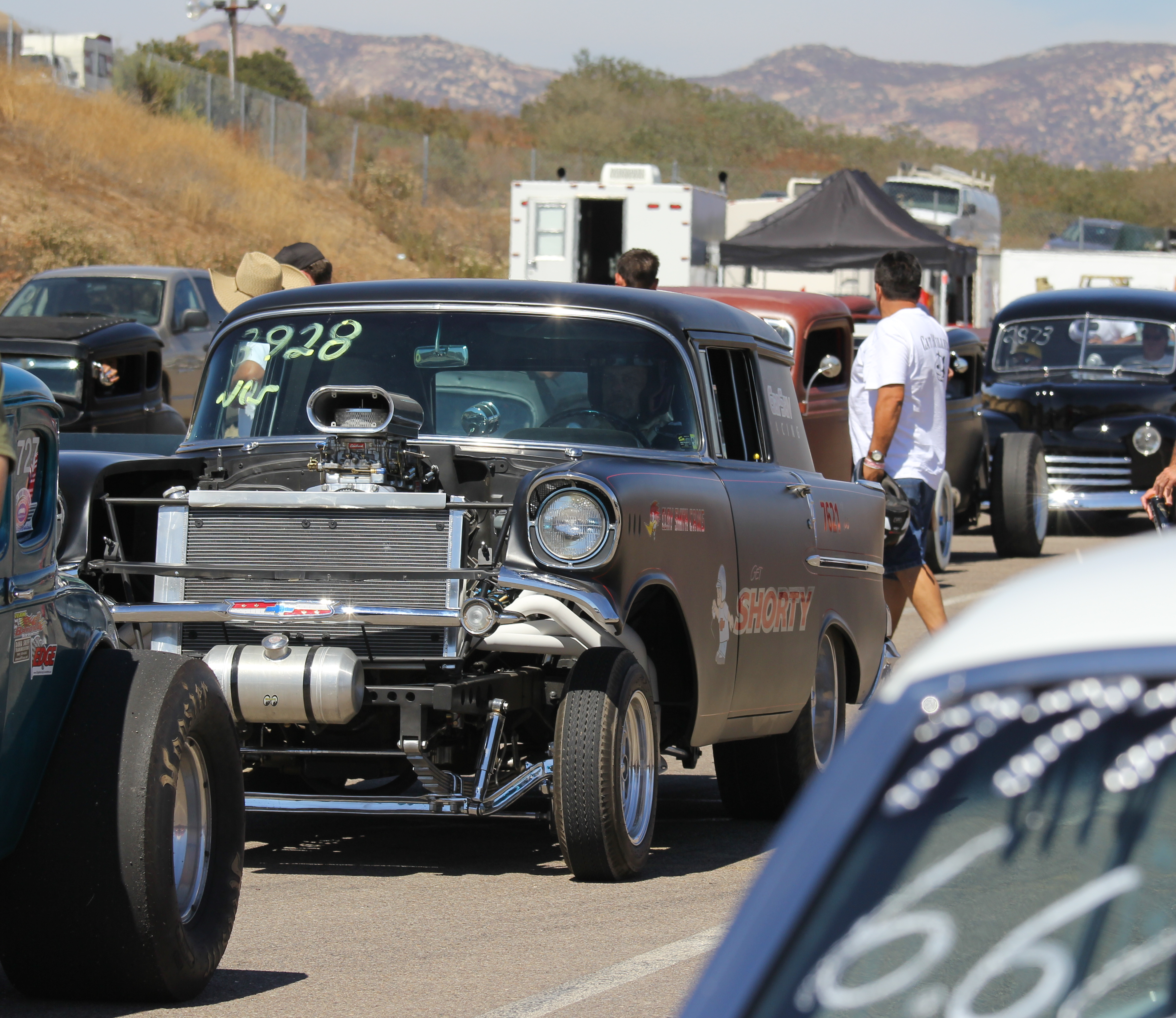 Hurry up and wait is a fairly typical drill at the drags—Barona's no different. Nestled into the hills on the Barona Indian Reservation in San Diego County, the 1/8th mile strip reminded many of those days of yore when mom and pop tracks dotted the country in the 1960s and 70s.