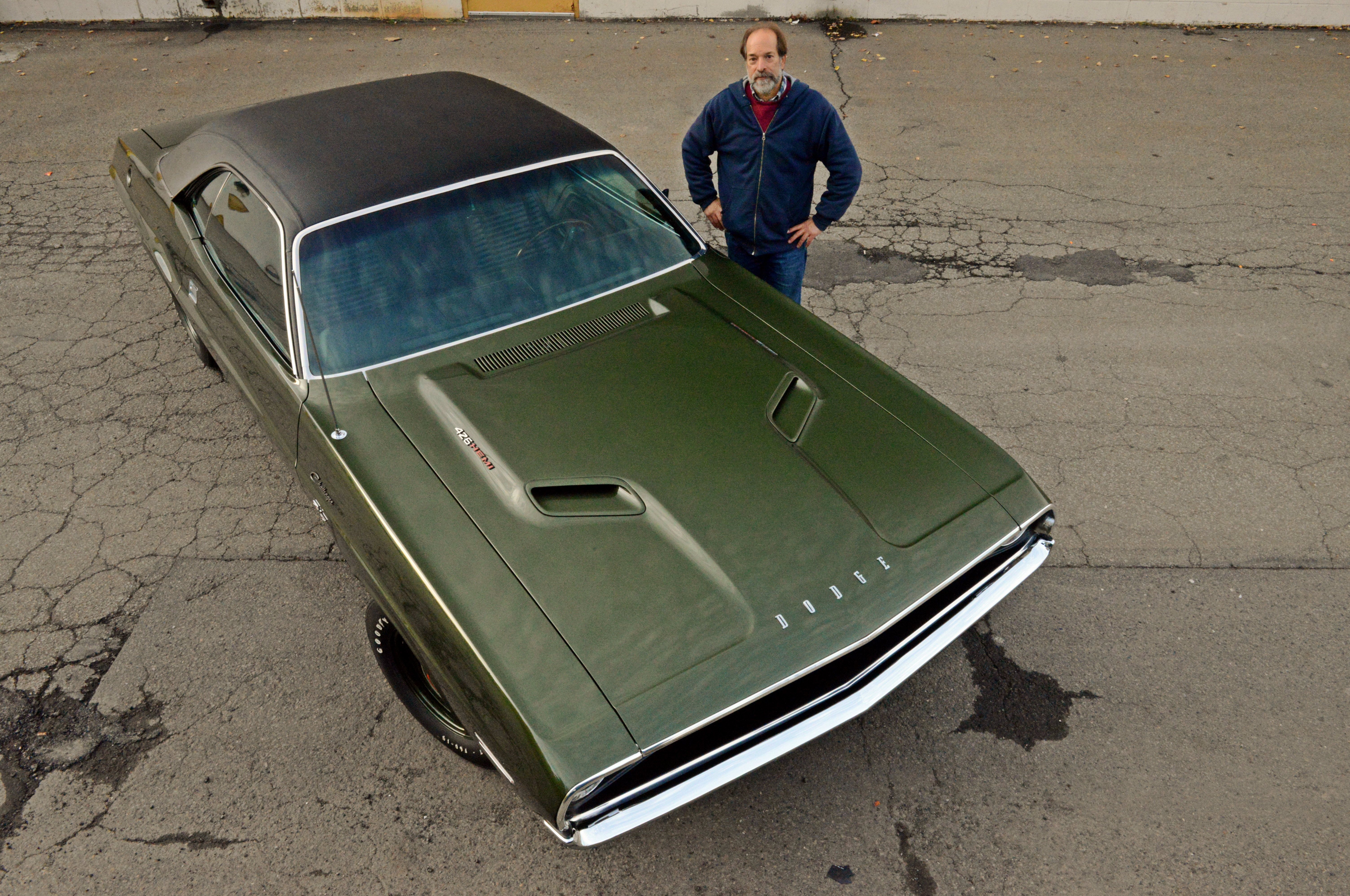 Many people got a chuckle when Bob brought the Challenger back across the border in pieces, and that includes the Customs Agents, Border Patrol, and finally his wife. Luckily, that didn't deter Bob, as the eye popping muscle car is now an amazing example of a rare four-speed, Hemi-powered Challenger.