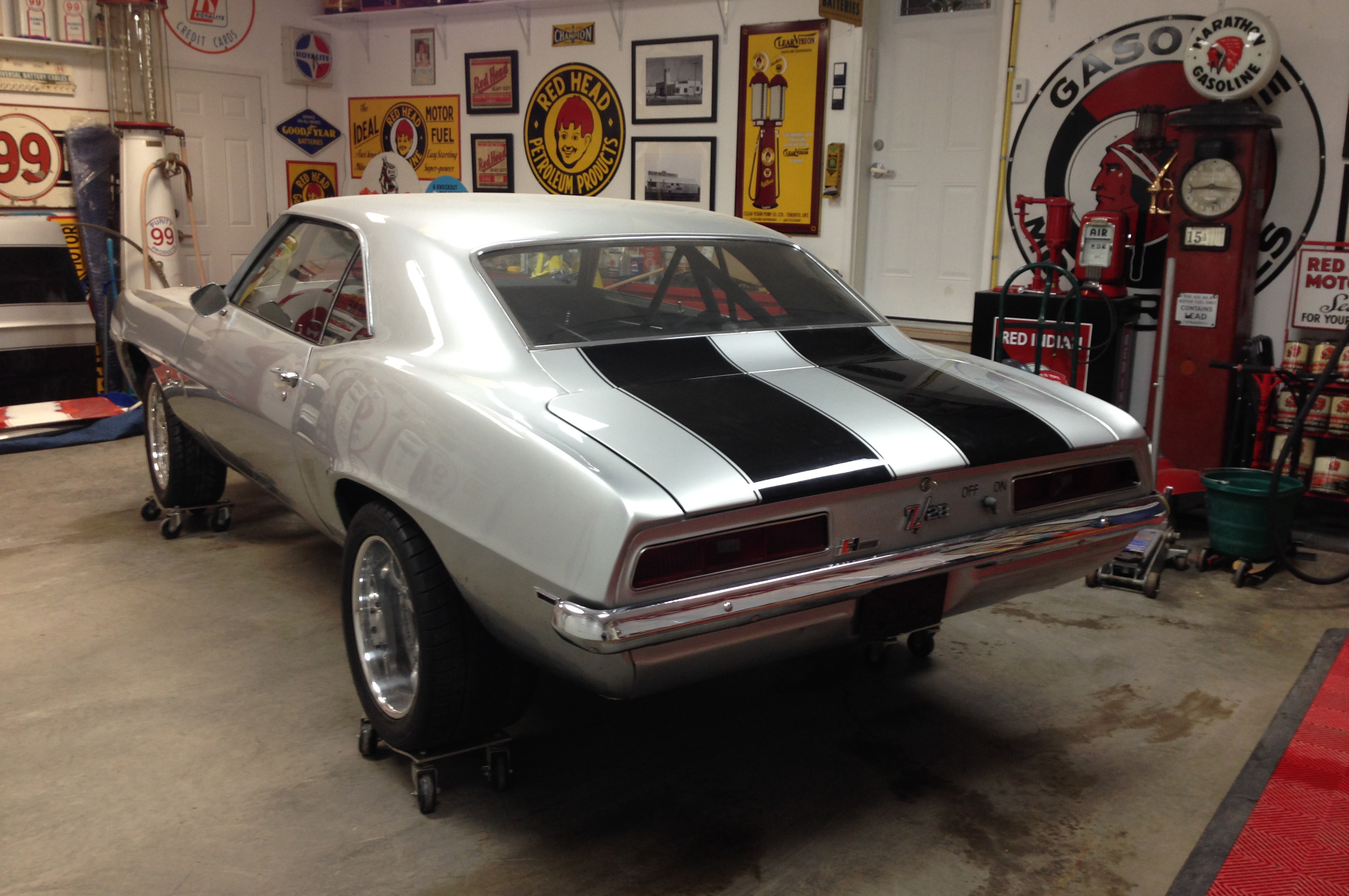 Former owner Kym Miller's 1969 Z/28 was a roller when Graeme Browne bought it and began a ground-up restoration.