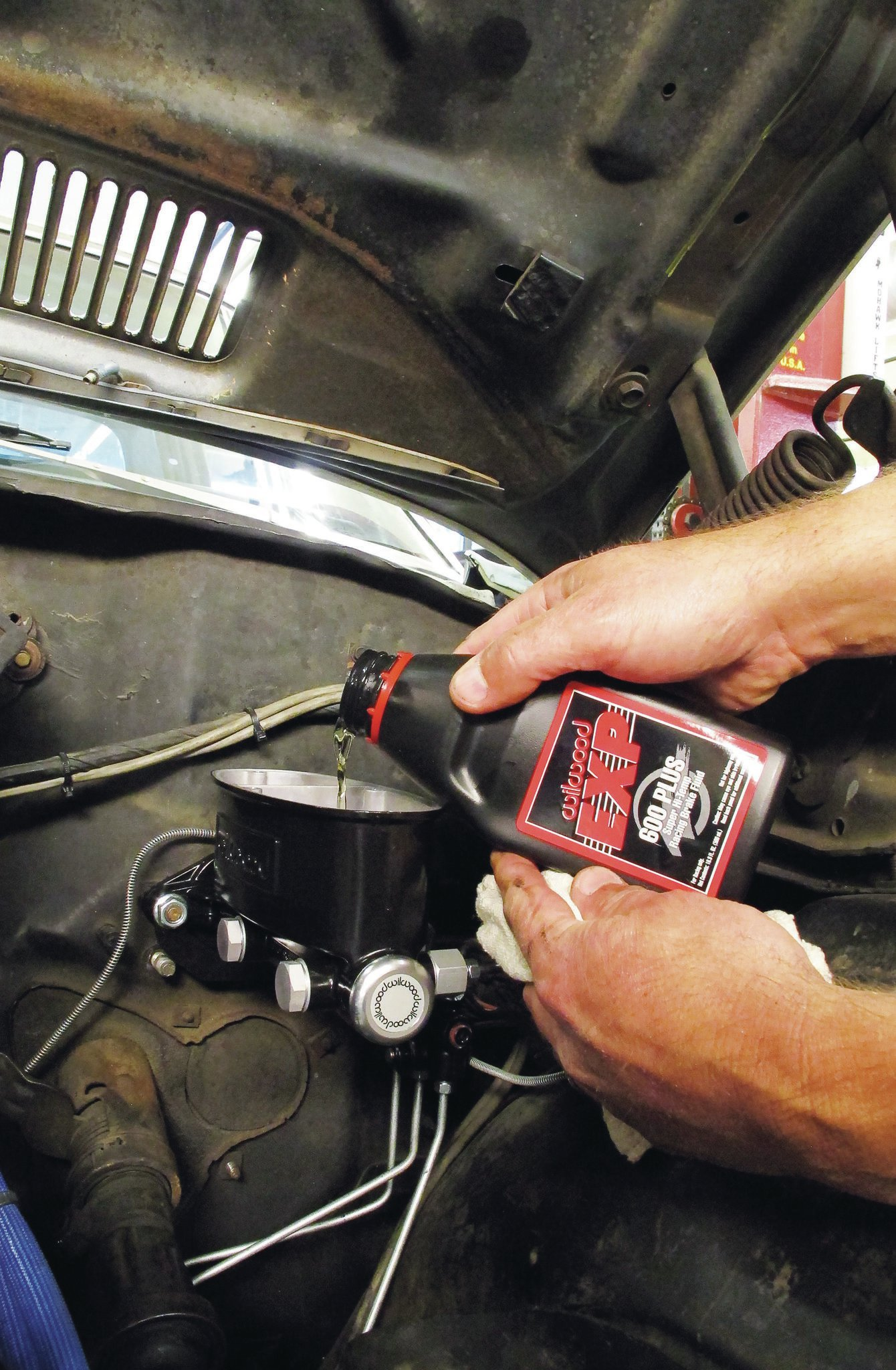 Throughout our testing, we used Wilwood's BP-10 brake pads and EXP 600 Plus racing fluid (PN 290-8478).