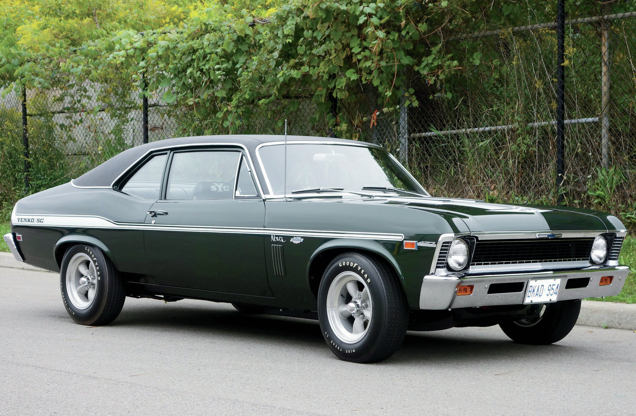 Compared to the Yenko Deuce made a year later, 1969 Yenko/SC 427 Novas are incredibly rare. Though it is reported that Don Yenko ordered about 38 of the cars to convert, fewer than 10 are known to exist.