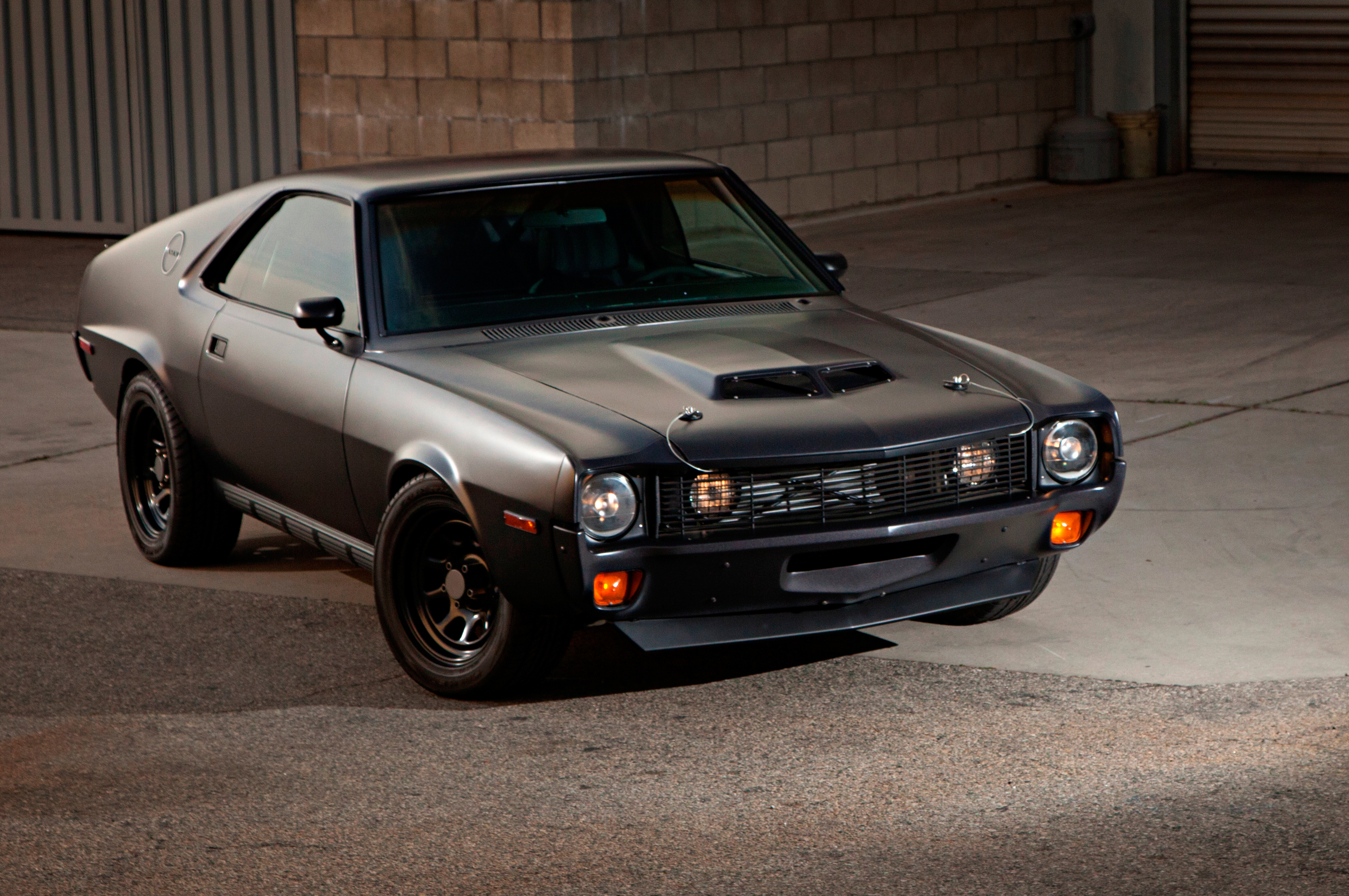 Homebuilt 1970 Amc Amx Goes Down The Faster Road Less Traveled