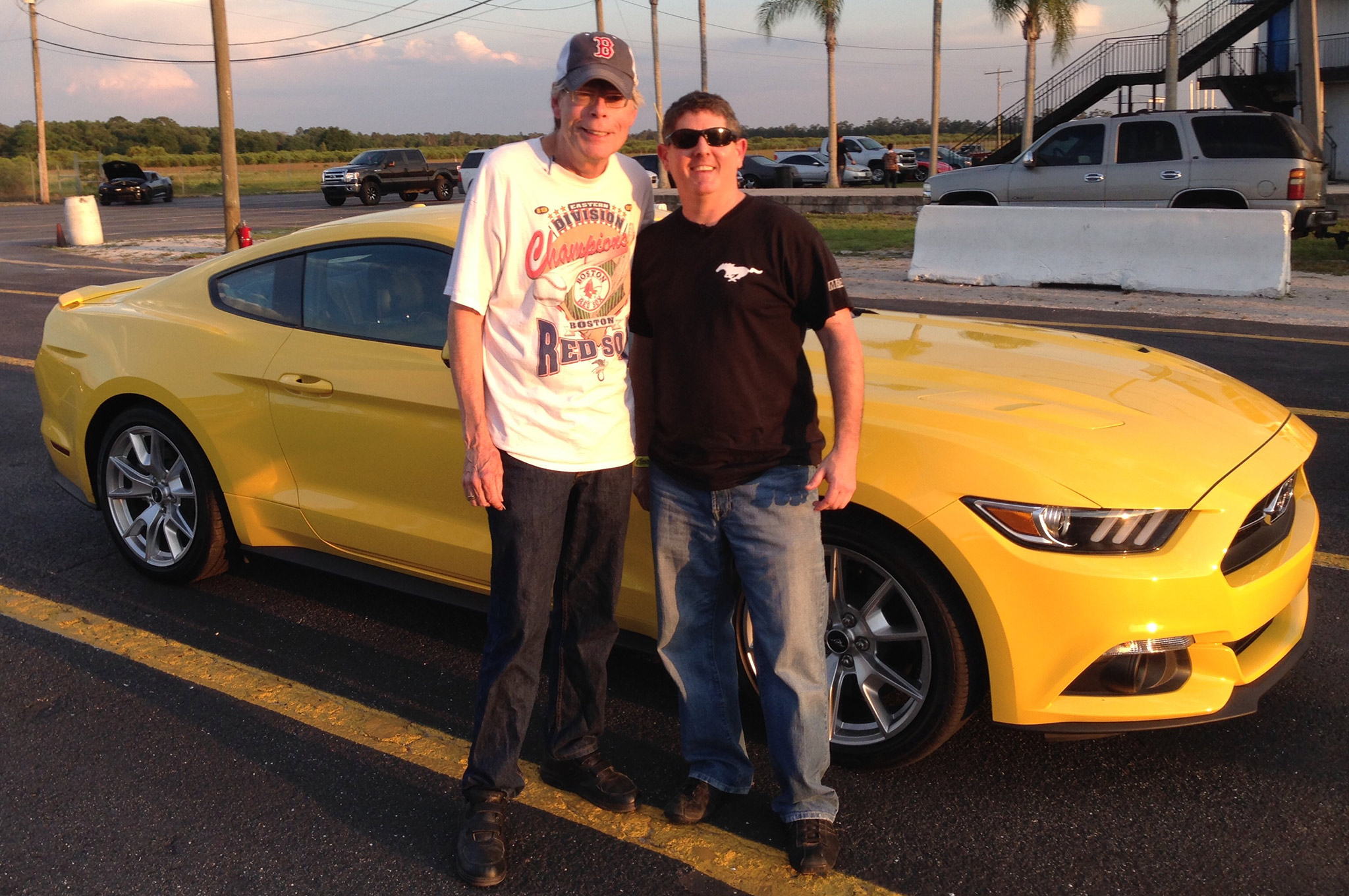 Author Stephen King was impressed with the 2015 Mustang GT. We wonder if he'll make it the subject of a new book?