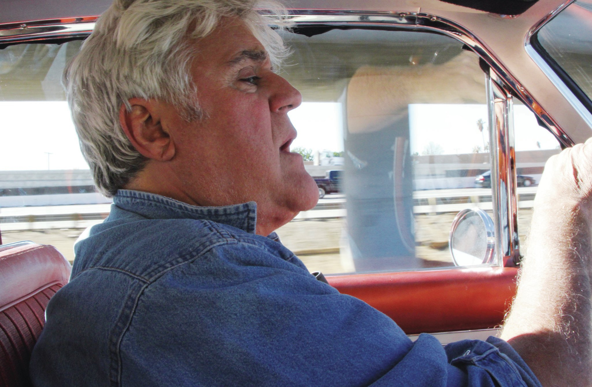 Jay Leno's team keeps his Chrysler turbine car in perfect driving condition.