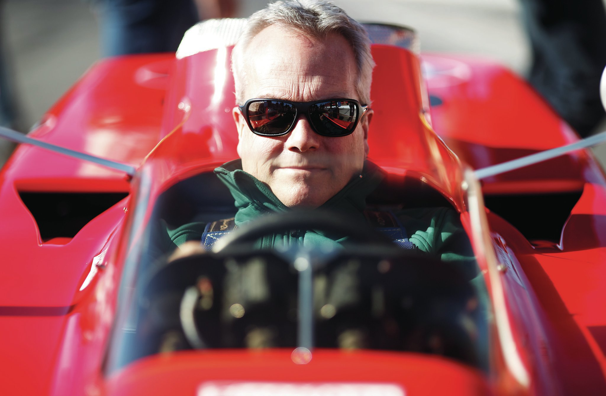 That's Clive Chapman, son of Colin, driving the car. Lotus oversaw the certification and restoration of this car with assistance from the Indianapolis Motor Speedway Museum.