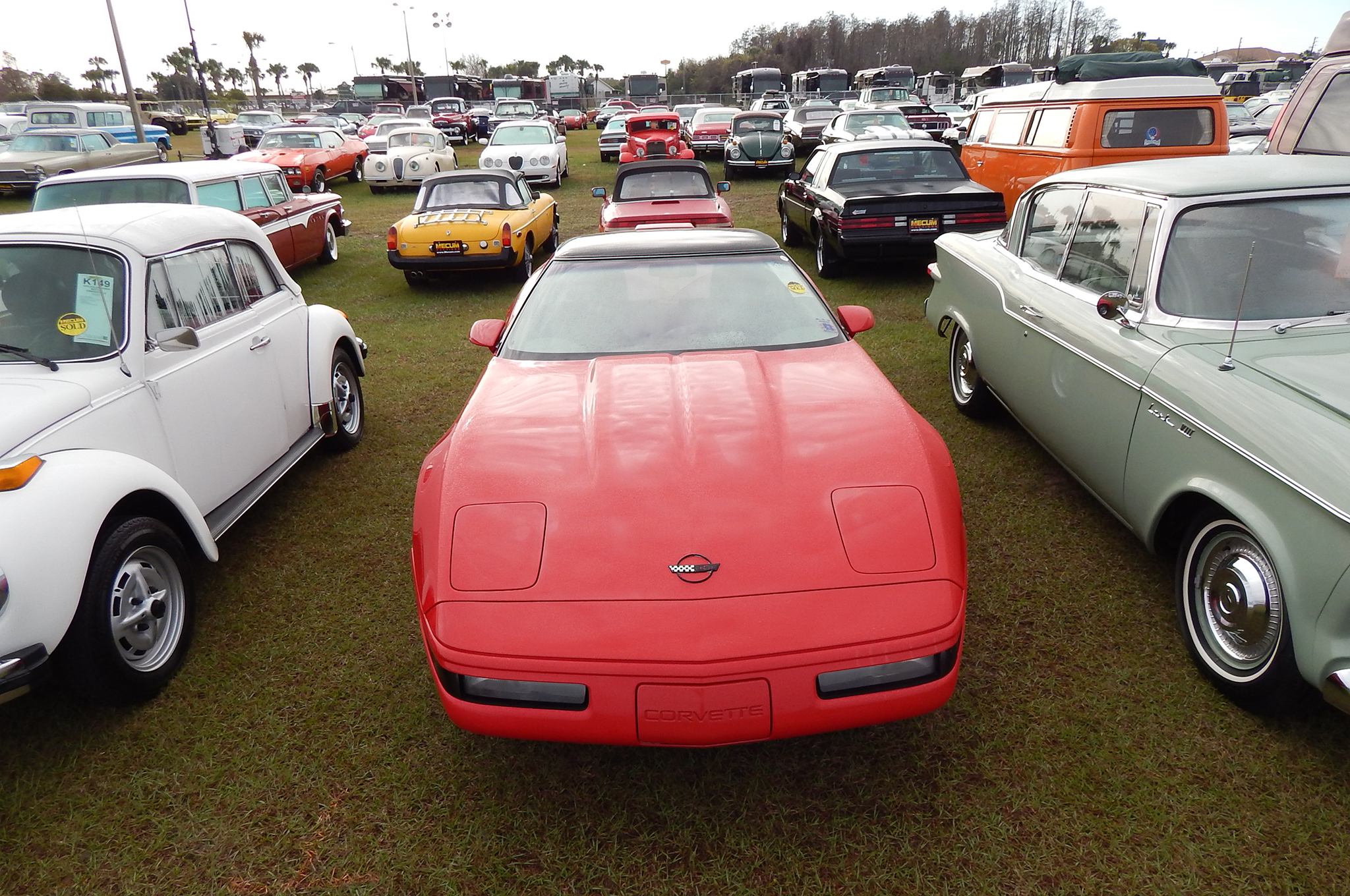 Don't think that only Bugs and Studebakers sold for low money. A $7,000 bid bought a 55,000-mile C4 in good condition. The lowest Corvette sale price was another C4 bid to only $5,500.