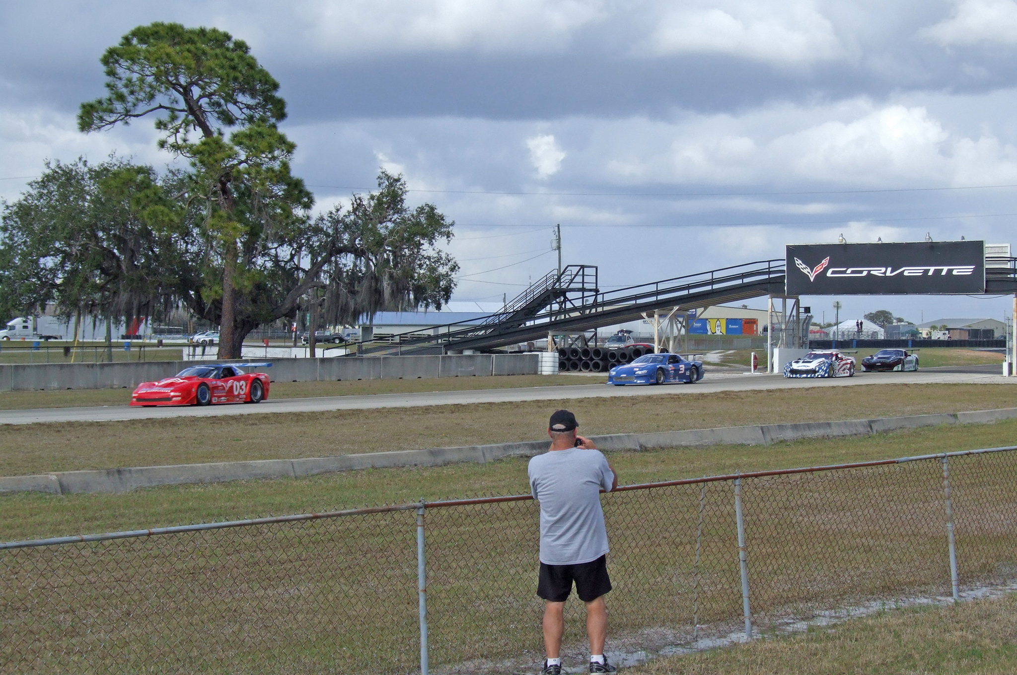 Sebring's 3.7-mile road course provides hundreds of spots for close-up viewing of the racing from every angle.