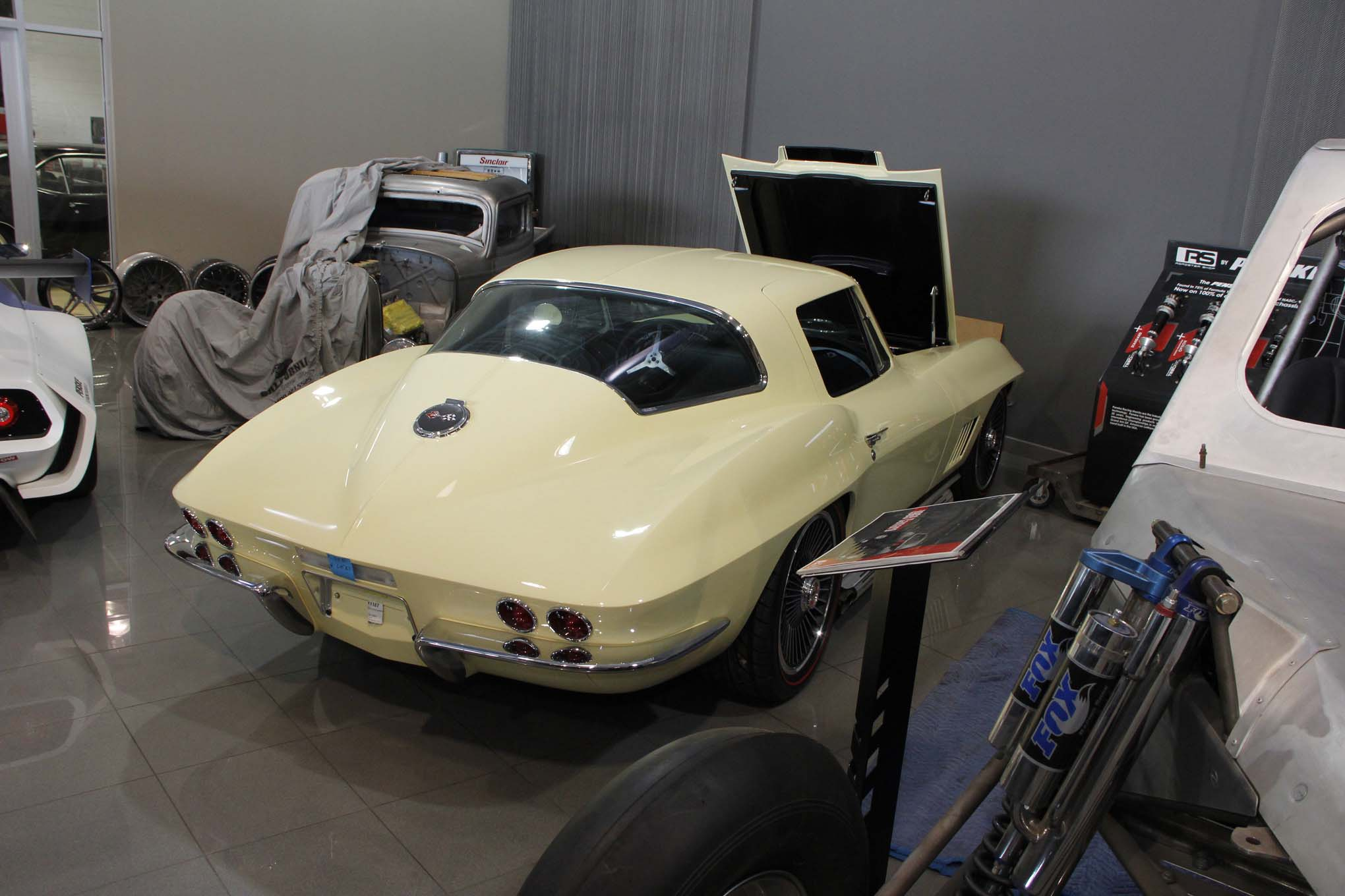 We almost walked right by this 1967 Corvette. See anything odd?