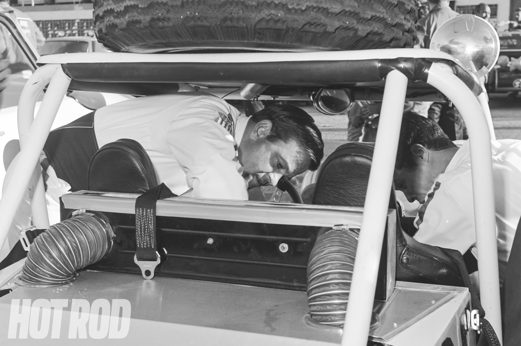 """""""This is Ensenada for sure. Yeah, there was a big staging area as you could see, and everybody unloaded their stuff. There should be some of [James] Garner in here. He was always around."""""""