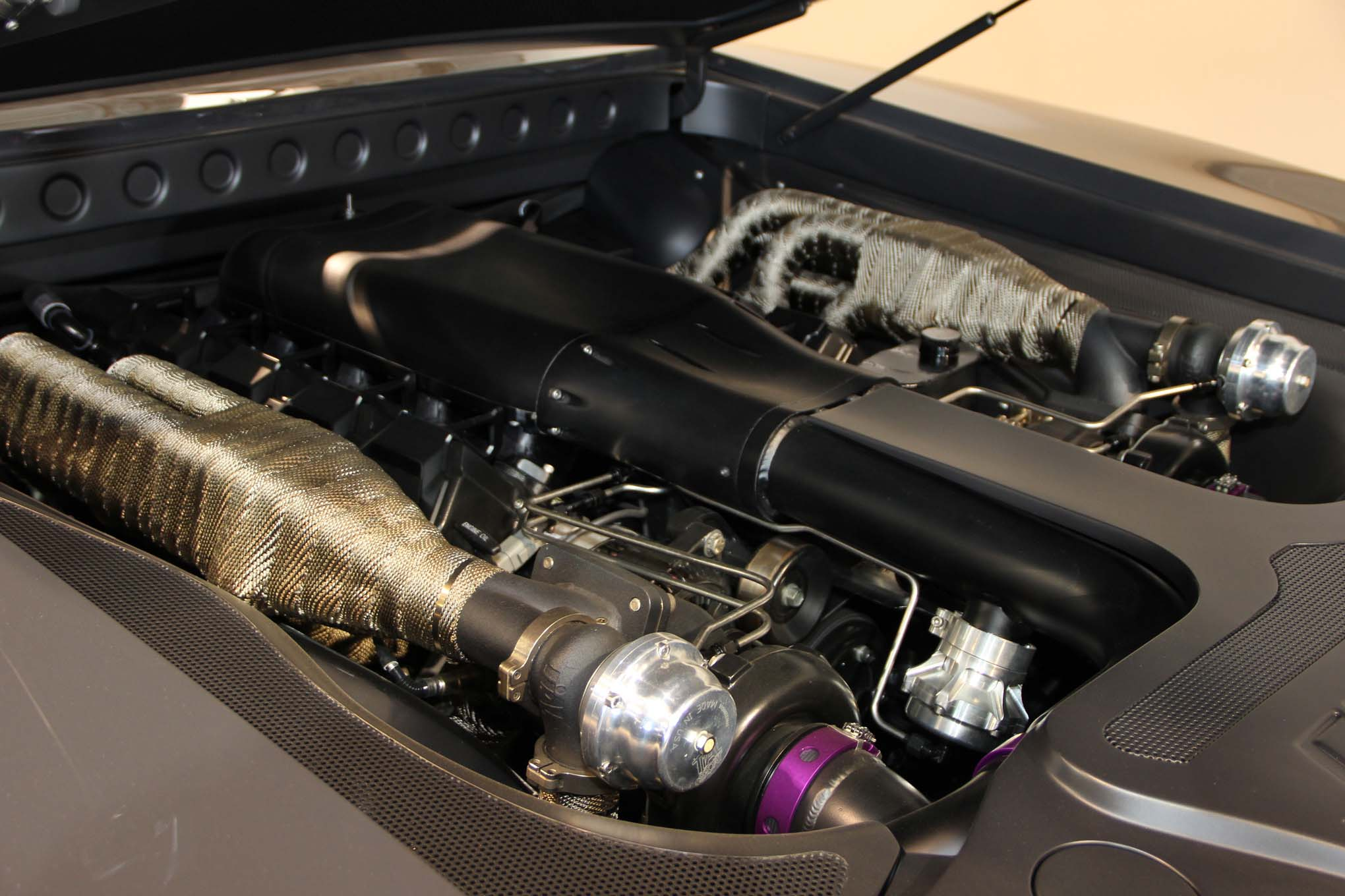 The power plant for the Charger is a twin turbo Viper V10. Need one?