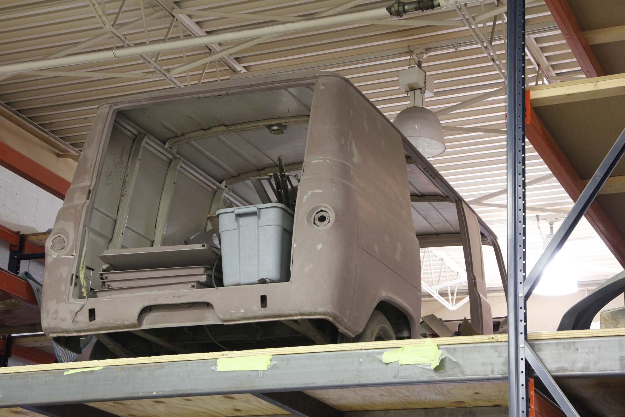 And there are vans! This Econoline is being stashed for a later build.