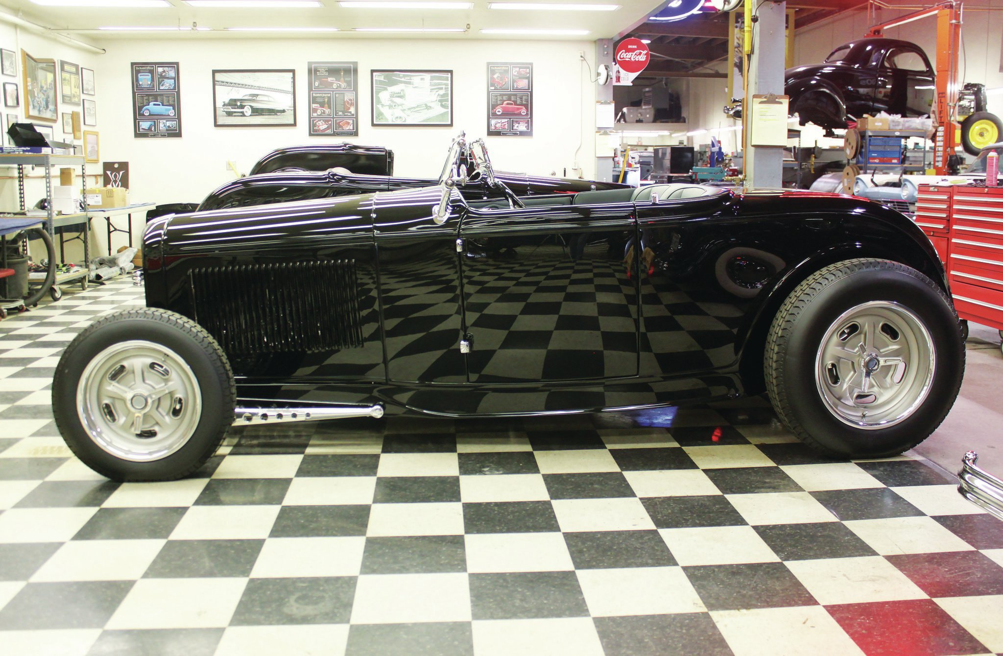 Dickie's Deuce roadster exhibits an unmistakable seduction and sophistication, without trying to be elegant or setting trends with goofy details, paint, or accessories. It's compelling for what it is and doesn't try to be something it's not—just like all hot rods should be.