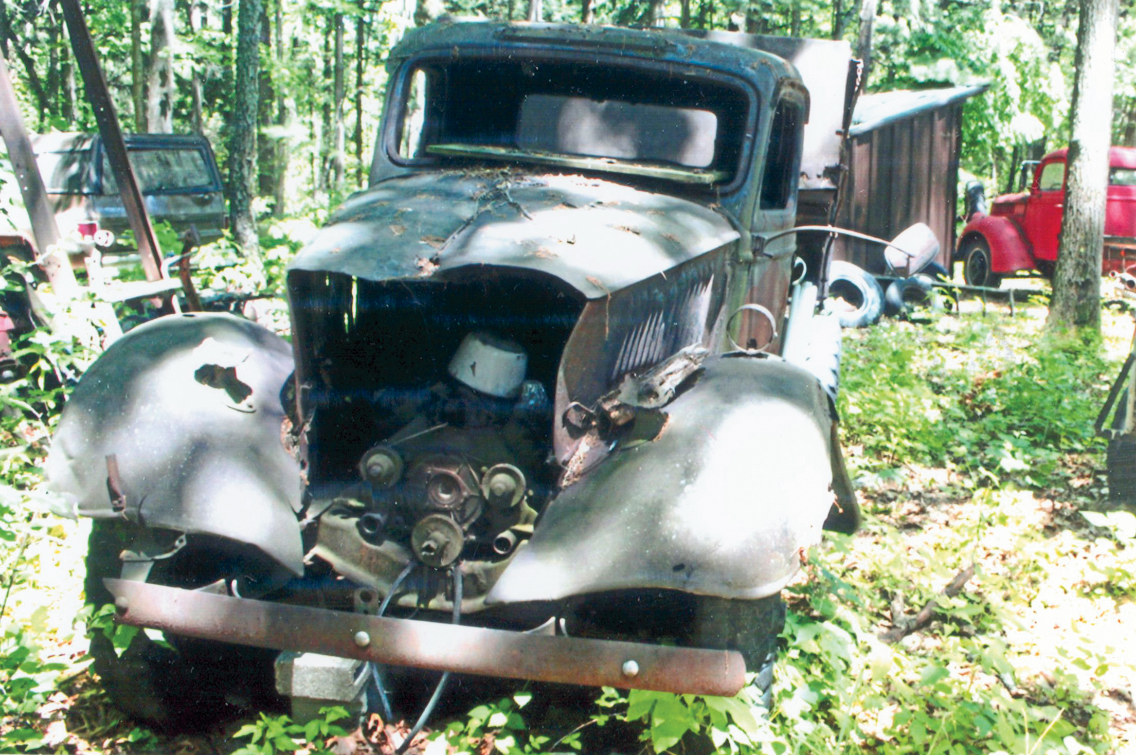 Can You Guess The Year And Make Of This Vintage Dump Truck Hot 1949 Ford Rod Network