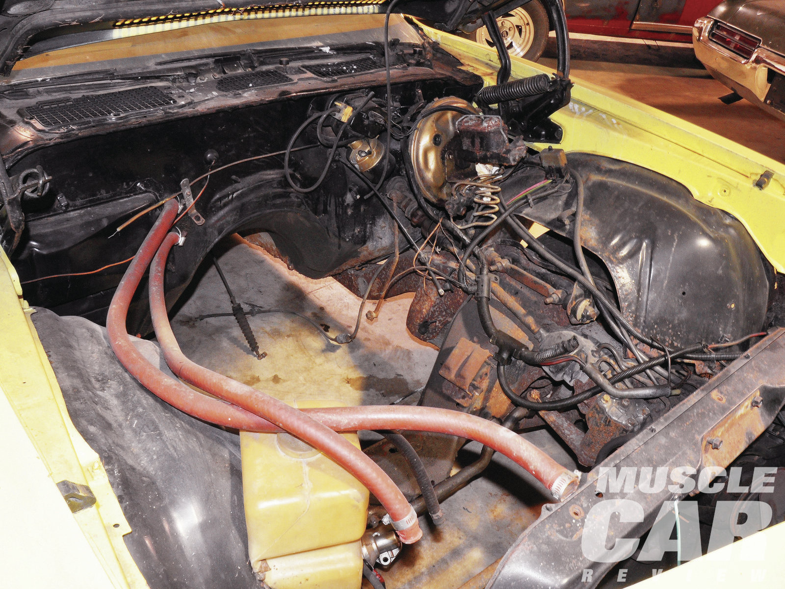 In 1974, Nickey Chevrolet would fill the engine compartment of a Nova or Chevelle with any engine it could get its hands on from Chevrolet. The customer was offered the 350/370-horse LT1, the 454/450-horse LS6, or the radical 427/430-horse L88. This car was converted to run the L88.