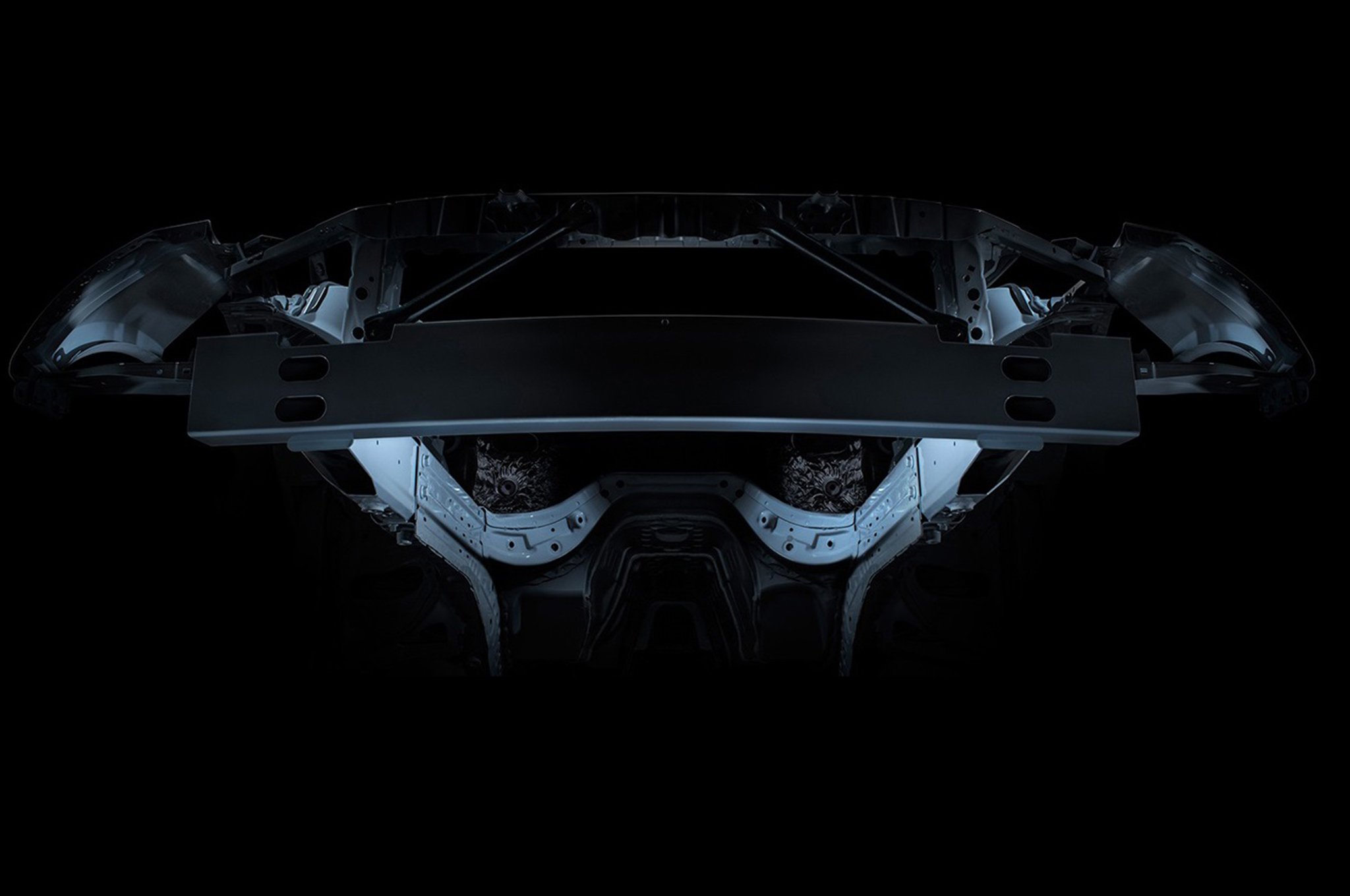The Gen 6's all-new structure is based on the rigid platform used for the Cadillac ATS, but with about 70 percent unique components for the Camaro. It's 28 percent stiffer than the Gen 5 structure and the body in white is a full 133 pounds lighter.