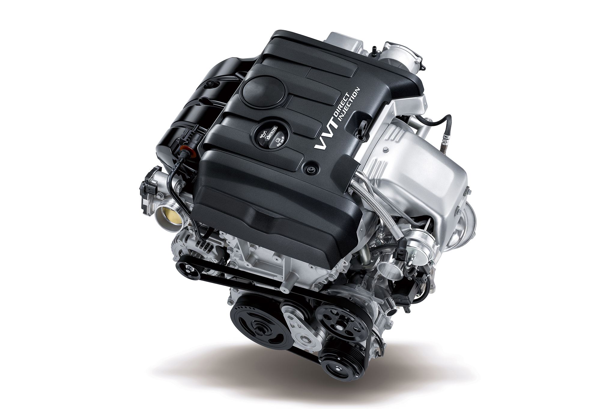 This 2.0L turbo four is the Camaro LT's standard engine. It produces 275 hp by generating up to 20 psi of boost with a twin-scroll turbocharger system. It's built tough, too, with a forged, cross-drilled crank and forged rods.