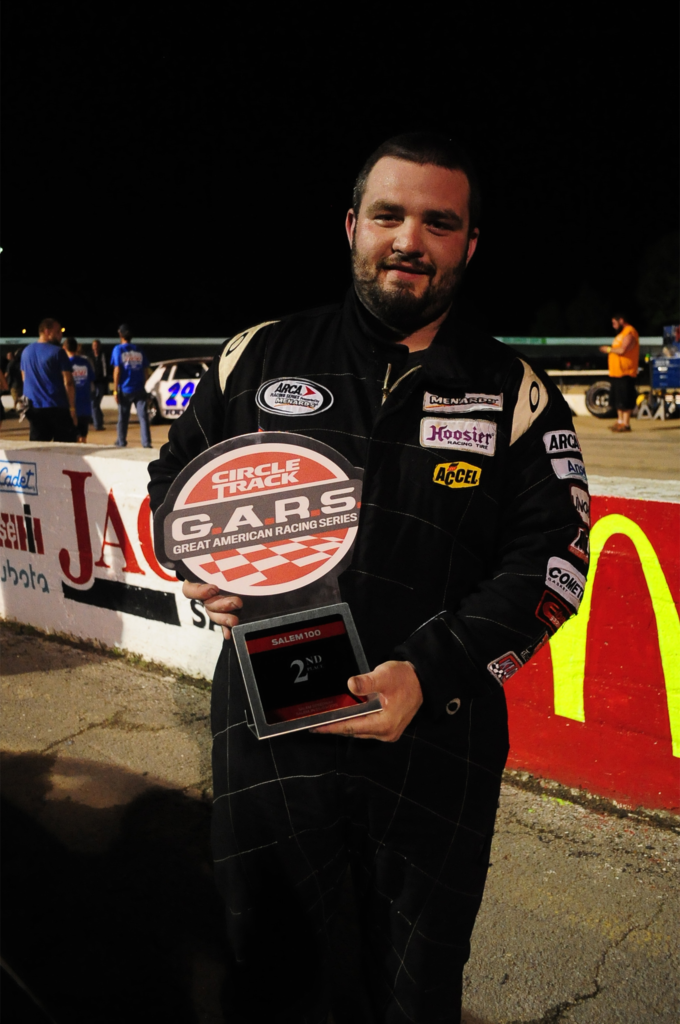 Another Kentucky racer, Blake Hillard from Owensboro, finished Second and pocketed $2,500.