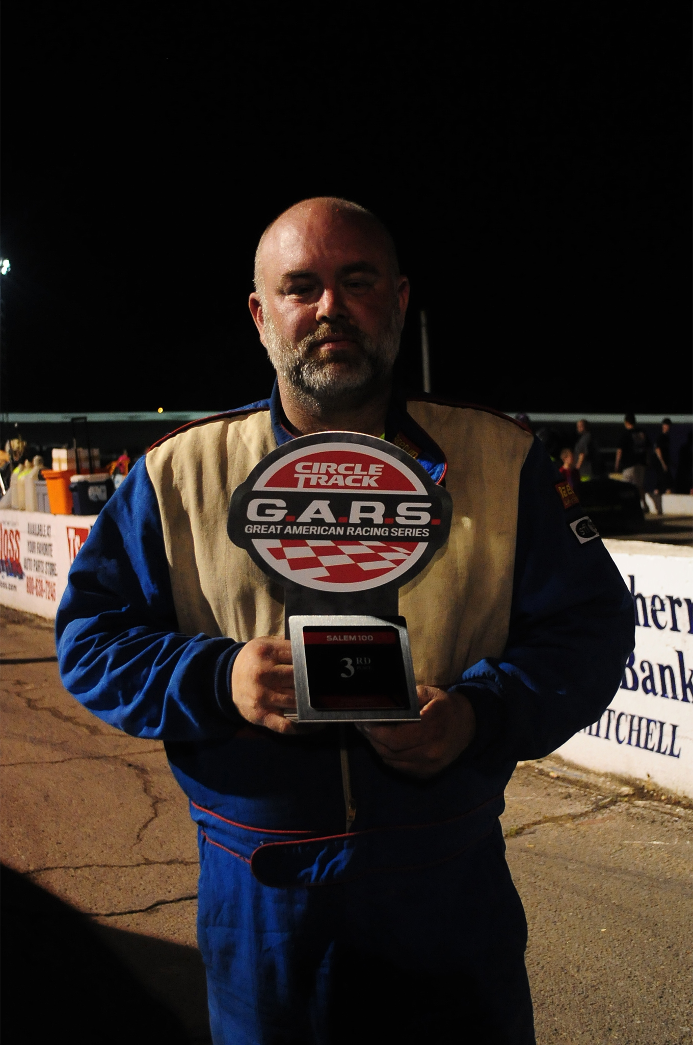 Shawn Smith from Louisville, Kentucky, finished Third and took home a nice $2,000 check for his efforts.