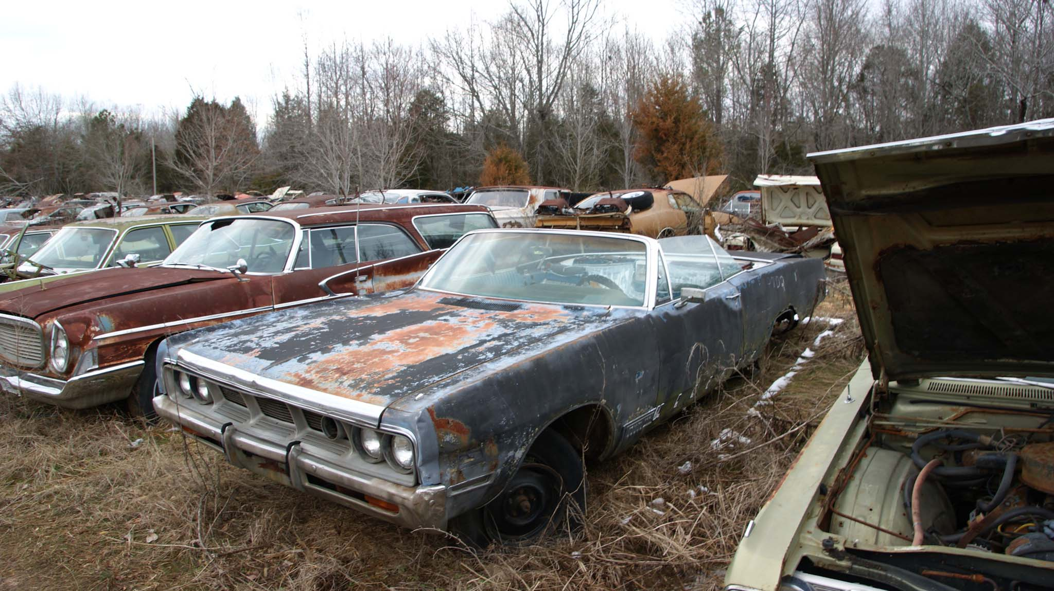 This is a rare car. Not only is it a 1969 Dodge Polara 500 Convertible, but it has the rare Super-Lite feature.  Which was a quartz-iodine lamp installed in the grille and aimed to the right side of the road.