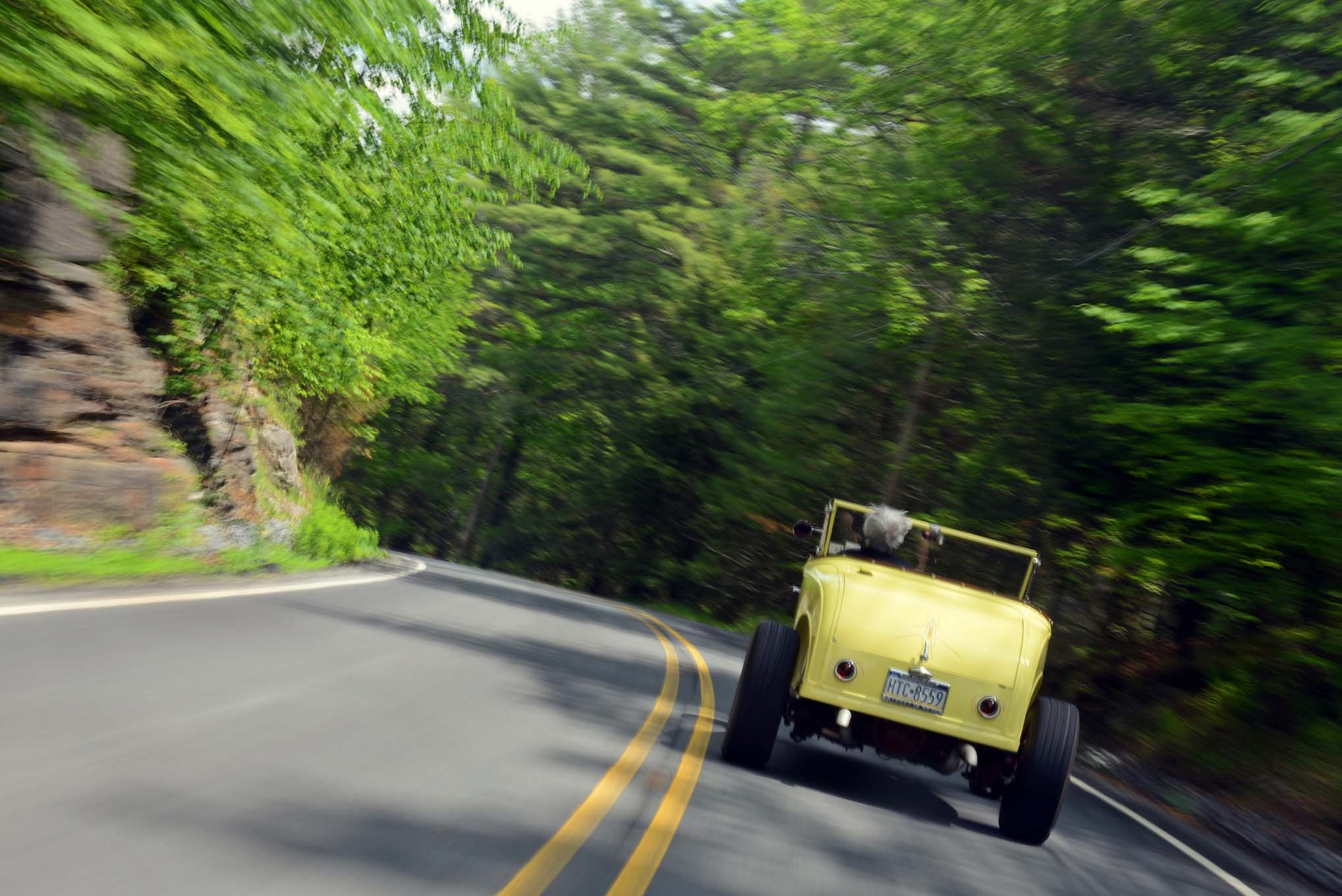 Since completed, Dave's 1930 roadster has logged more than 70,000 miles behind its 1955 Ford F-100 steering wheel, and both man and machine are still going strong.