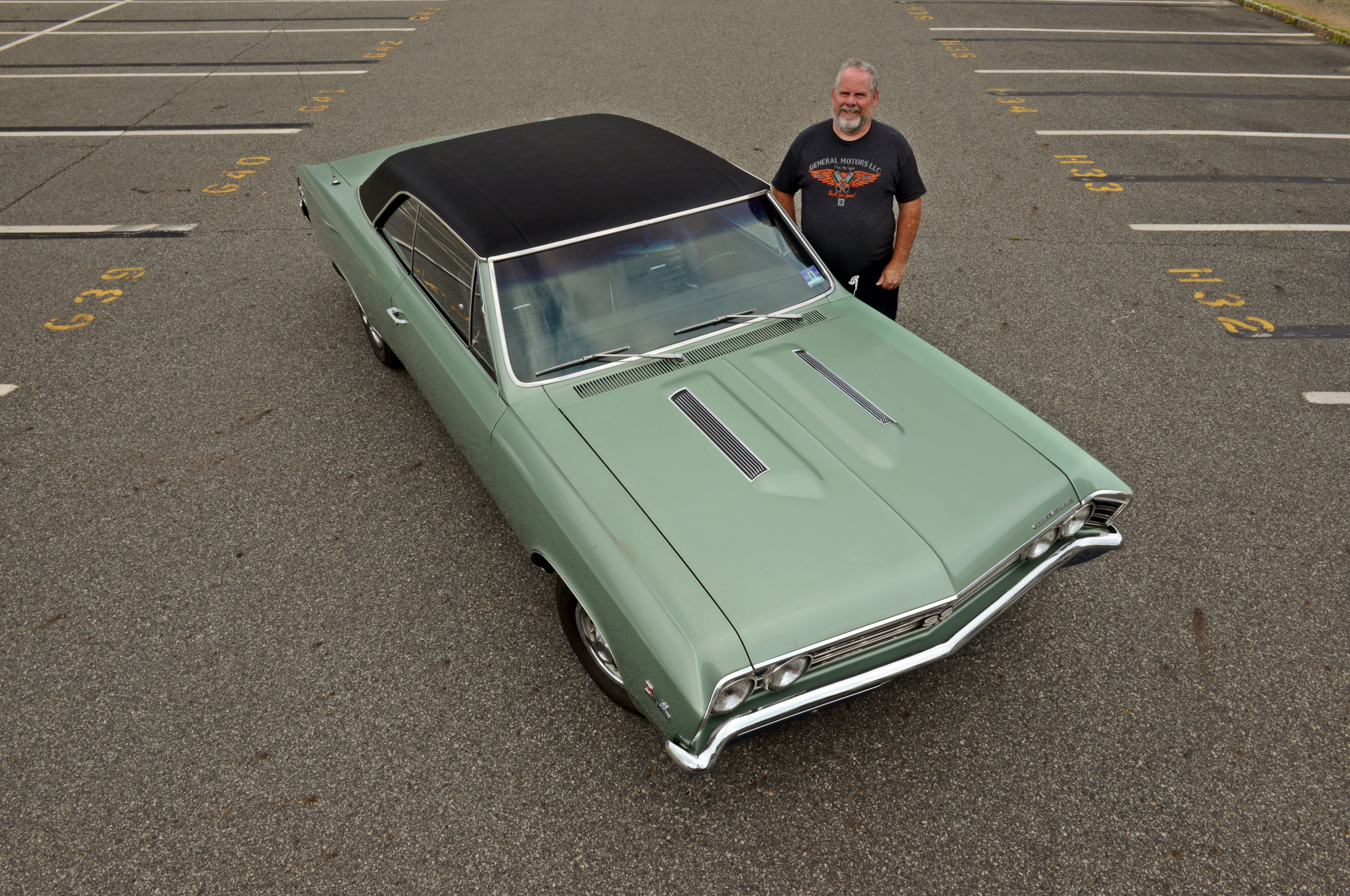 If you asked his friends which of all the cars he owns best represents Ray's personality and style, hands-down they would say the 1967 Chevelle. He fell in love with the car's aggressive looks and slick roofline at first sight and knew deep down that one day he would have one of his own.