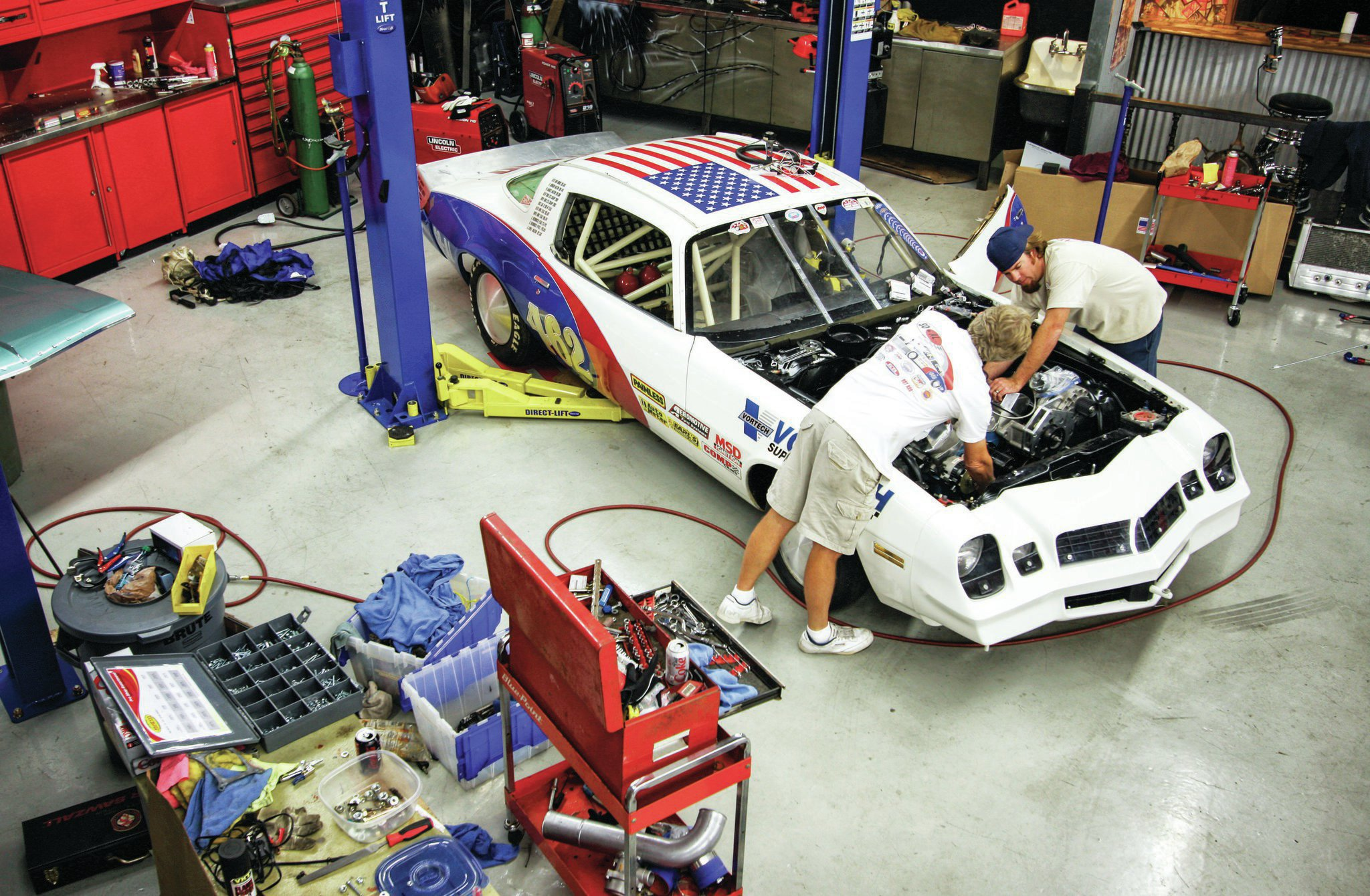 Bonneville's Speed Week is a big deadline, which is why it was all hands on deck back in 2011 when lots of folks pitched in to get the Turk/Freiburger Camaro ready for its runs on the salt.