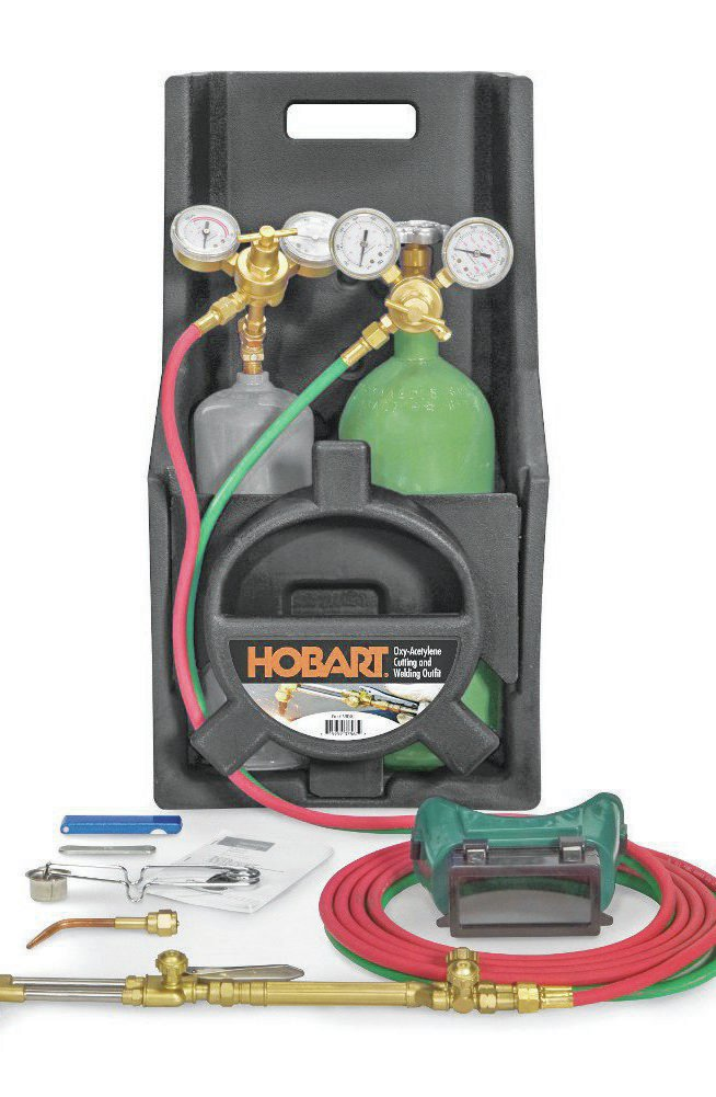 Hobart's 32-pound kit is compact and still has all of the heating and cutting power of a fullsize torch.