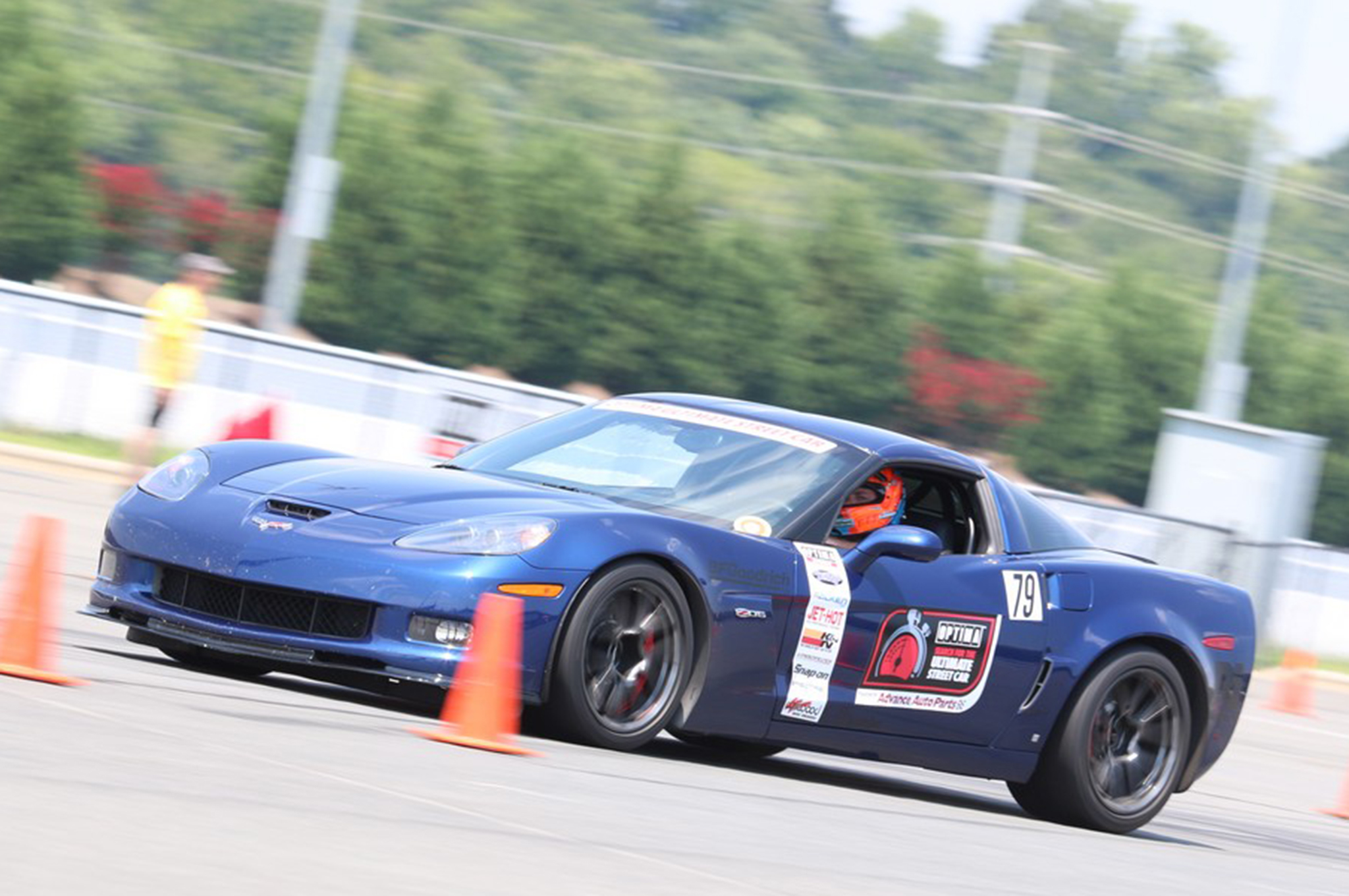 It took an all-wheel-drive Nissan GT-R to knock Joe Gregory's 2007 Z06 out of the top spot in the Detroit Speed Autocross.
