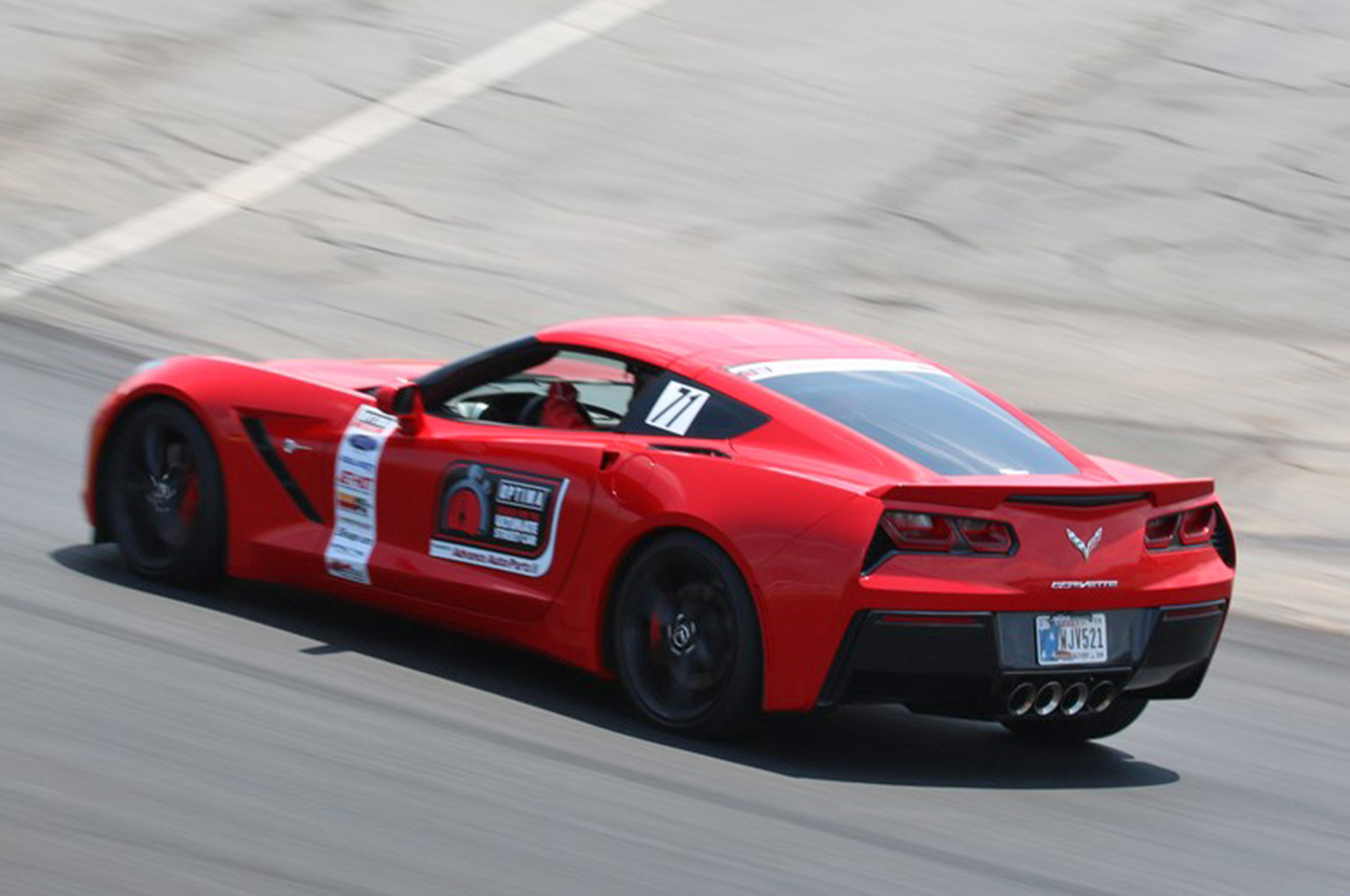 Hugh Bate and three other import owners topped Chris Neal's 2014 Corvette in the GTS class, but his Top Five finish in Charlotte propelled him into First Place in GTS points and Fourth Place overall in the season-long points chase. The top finishers in each of four classes who have not previously qualified for Las Vegas, along with the next 11 competitors, regardless of class, will all get invites to SEMA and the OUSCI, so Neal's performance is a big deal.