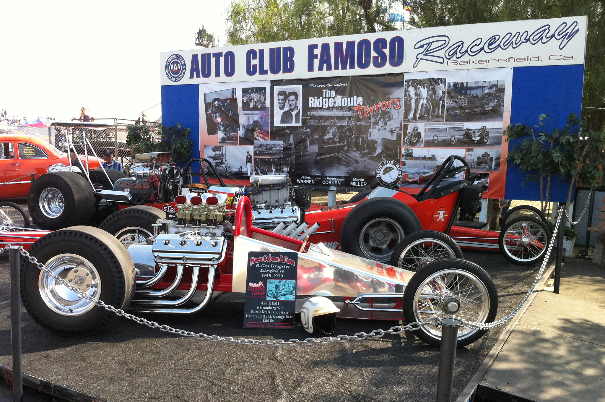 There's no greater way to wrap up the Sherm's Custom Plating Tour and the ARP/STREET RODDER Road Tour season than by reliving the past watching vintage drag racing at the NHRA California Hot Rod Reunion.