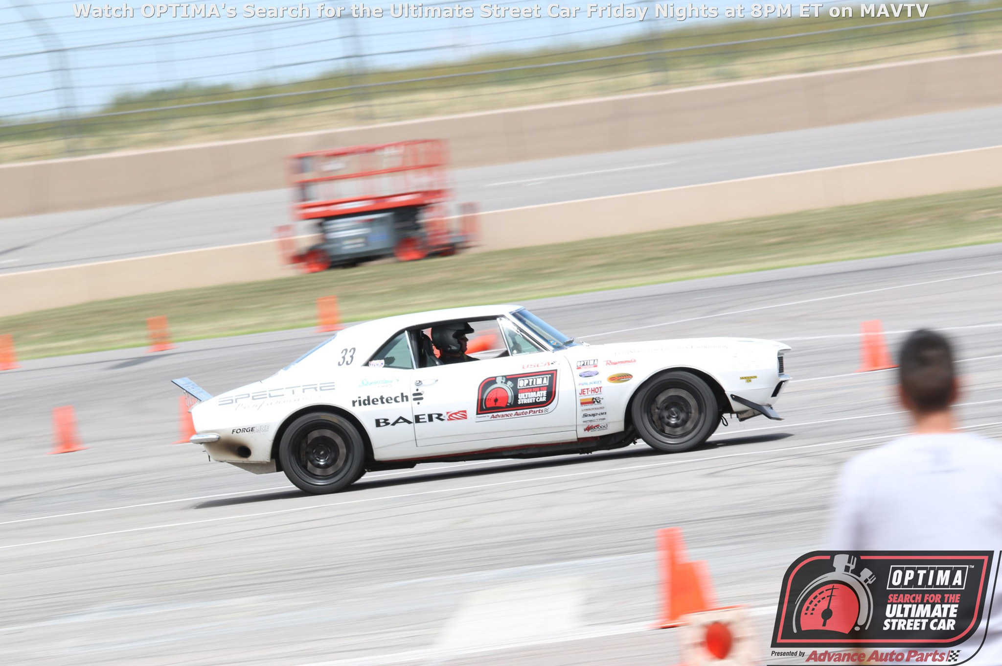 With Rozelle having already qualified for Las Vegas at the Thunderhill event, the GTV invitation went to Second Place finisher James Shipka and his 1967 Camaro.