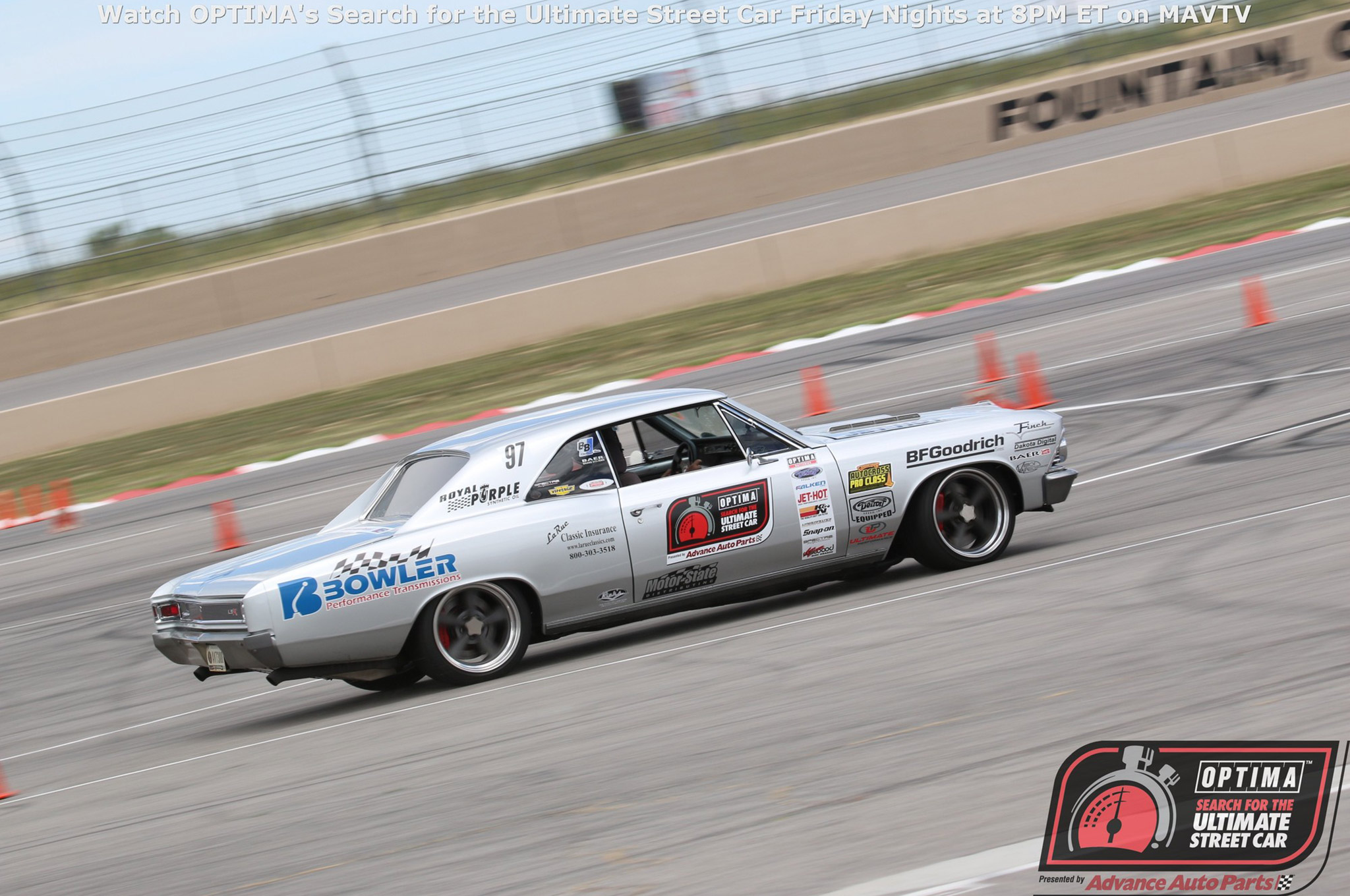 Between Tom, Deb, and their son Sam, the Farringtons are the first family of Pro Touring. This time, it was Tom piloting the family's 1966 Chevelle to a Third Place finish in GTV.