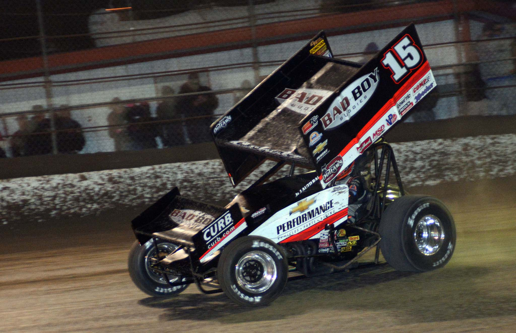 Drivers like Donny Schatz will hit 90 events from coast to coast and in Canada when touring with the World of Outlaws