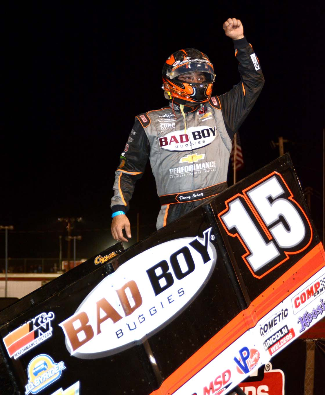 When it comes to the Outlaws, and dirt Sprint Car racing in general, Donny Schatz is the man to beat.