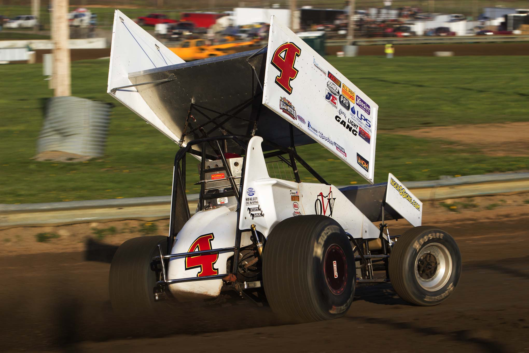 Sprint Car Hall of Famer Danny Smith hops in with the All Star Sprints