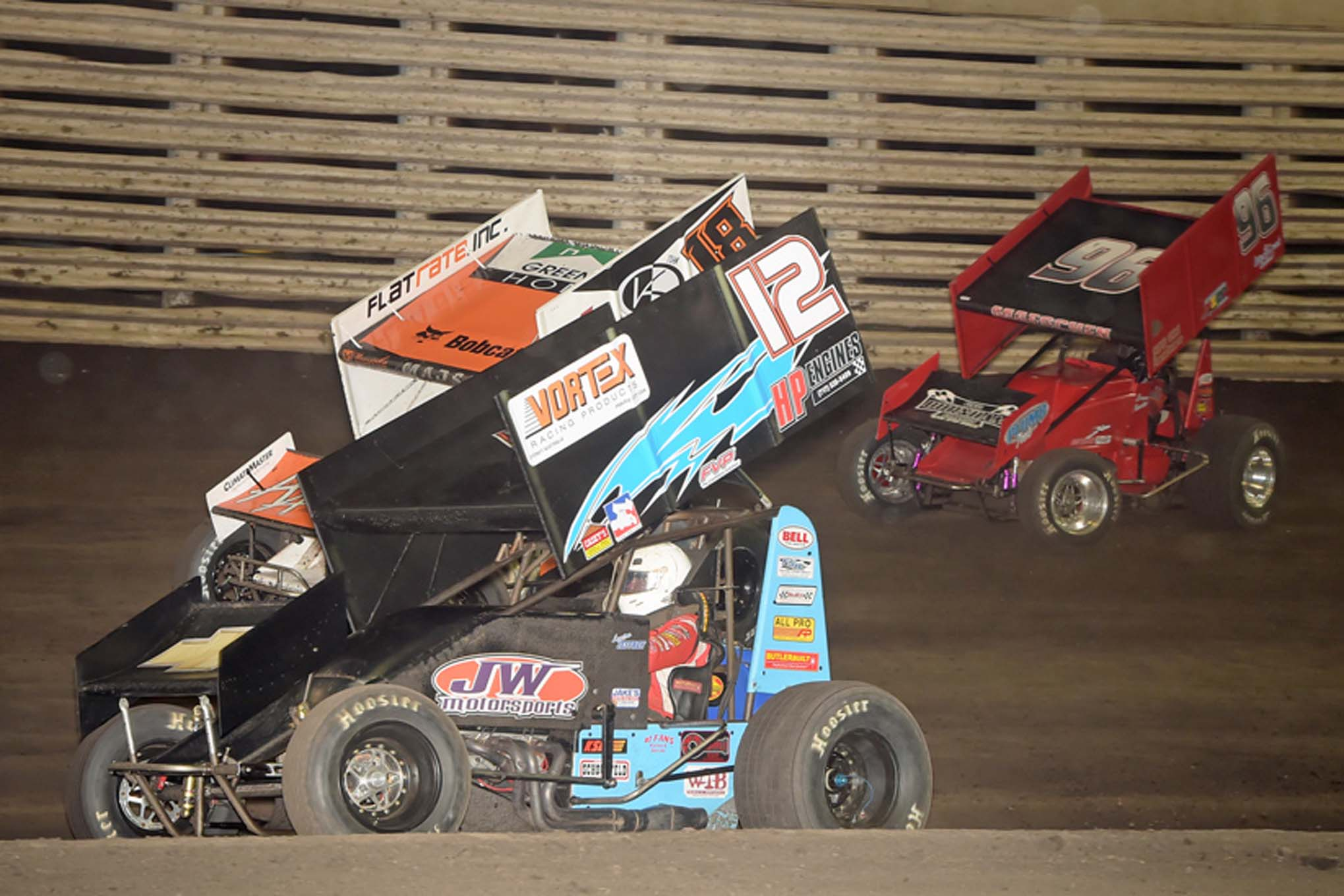 There is plenty of action in the Midwestern-based National Sprint Car League. The newly formed series is gaining in popularity at a rapid rate.