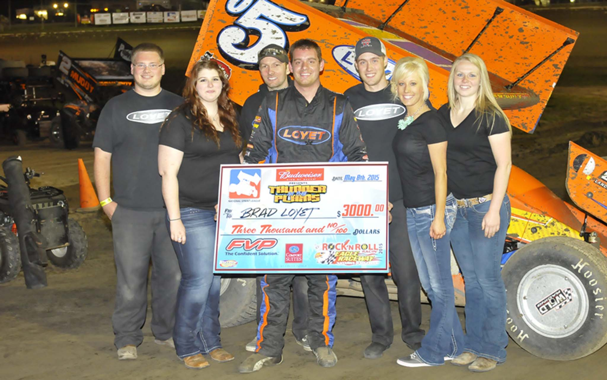 Brad Loyet had a solid payday at Eagle (Nebraska) Raceway. Big purses and a large point fund lend credibility to the newly formed NSL.