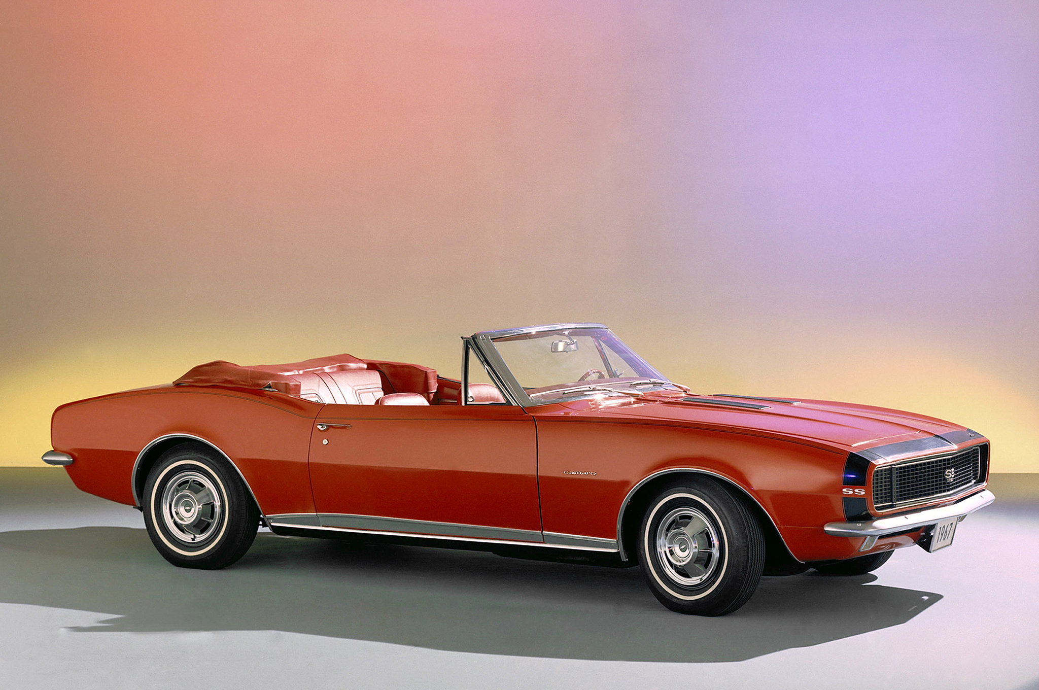 """The Camaro debuted in late 1966 to enthusiastic Baby Boomers clamoring for Chevy's entry in the all-new """"ponycar"""" segment. More than 220,000 were sold in the first year."""