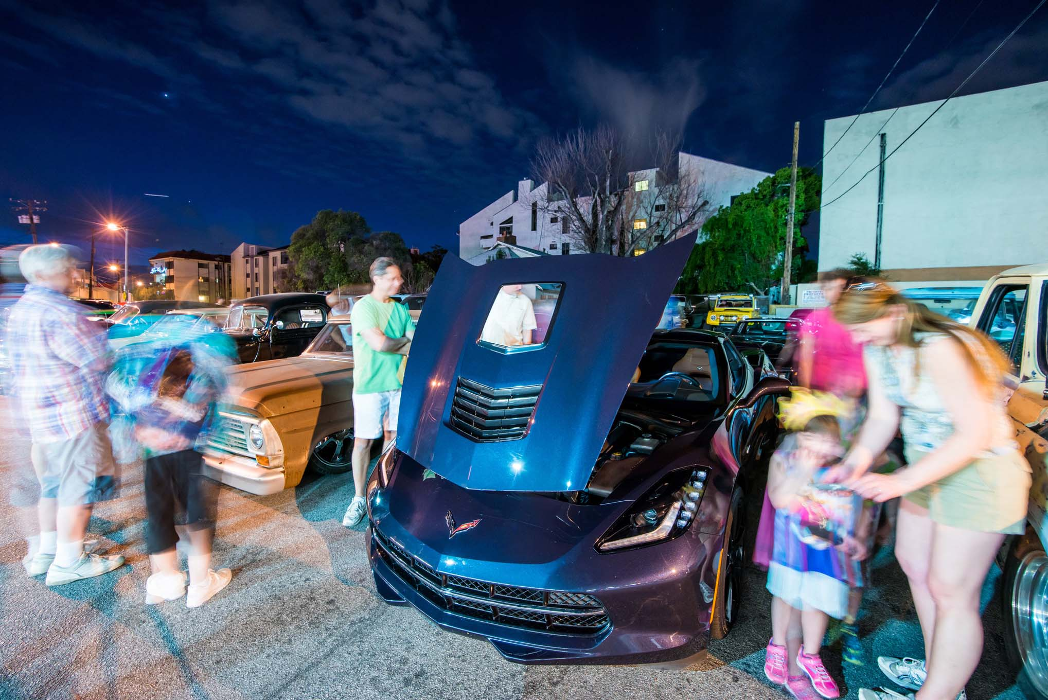 Callaway has been offering upgrades to Corvettes since 1987, and when we stopped at our local Bob's Big Boy Friday night cruise, we were surprised how many people recognized the car and had happy stories of owning previous Callaway-edition Corvettes.