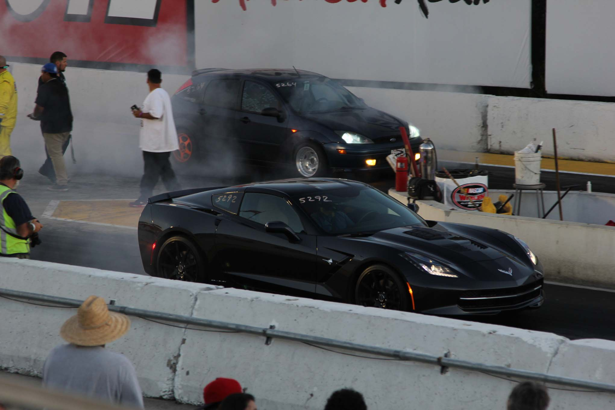The Callaway was easy-going on the dragstrip, running the eighth-mile in 7.89 at 96.43 mph  without any of the burnout-induced code-throwing that the Z06 gave us. It left a little soft for a 600hp car, but in general, the power came on a little later in the range.