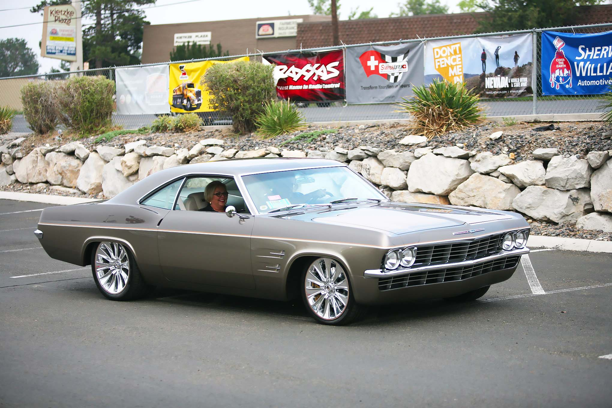 Don and Amy Voth's 1965 Chevrolet Impala built by Chip Foose