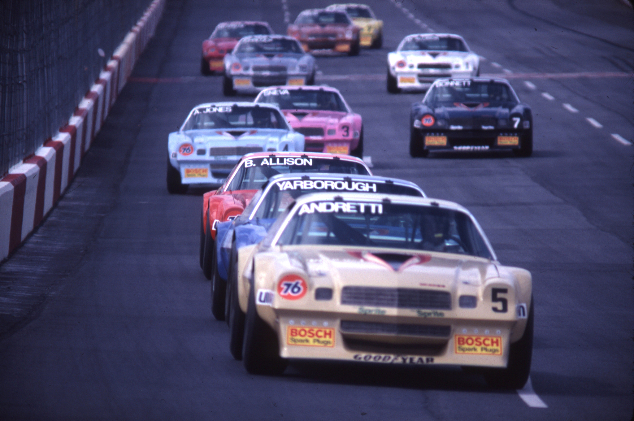 The Camaro was a track star in the IROC racing series from the mid-1970s through late-1980s. The series featured identically prepared race cars driven by the best drivers from different forms of racing, from open-wheel and Sprint cars to NASCAR.