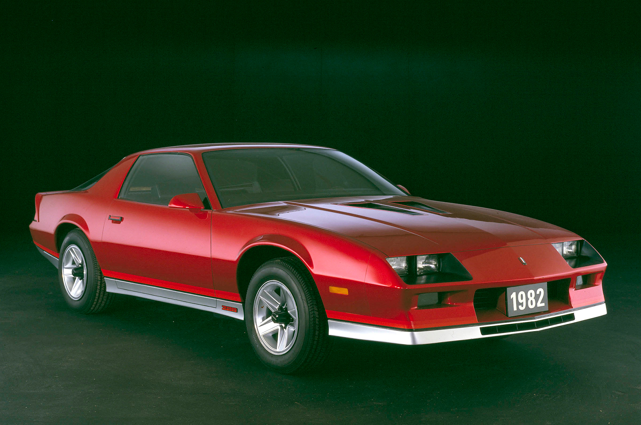 The third-generation Camaro was a radical departure that, like the preceding generation, would help define the culture of its decade. It was also designed as more of a true performance car, with a greater emphasis on aero and a more responsive suspension system, including rack-and-pinion steering and a strut-type front suspension.